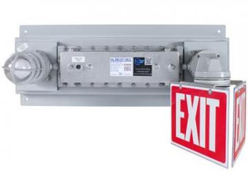 Hazardous Location Emergency Exit Light with Battery Backup