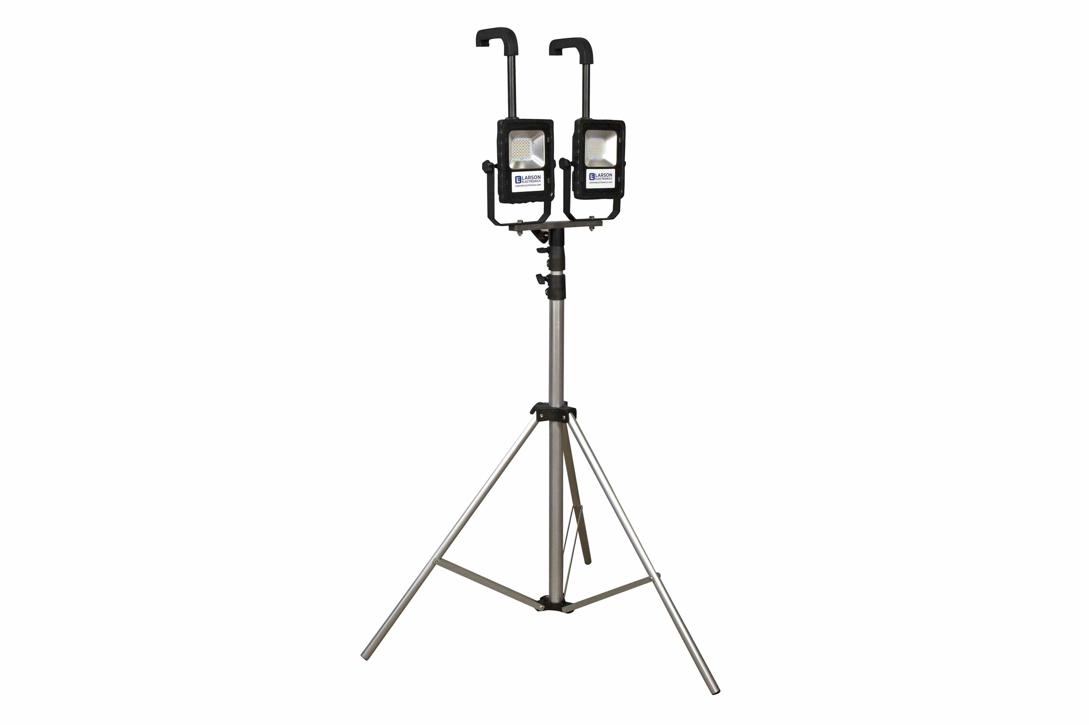 Rechargeable LED Work Area Lights with 3.5' to 10' Adjustable Tripod Mount