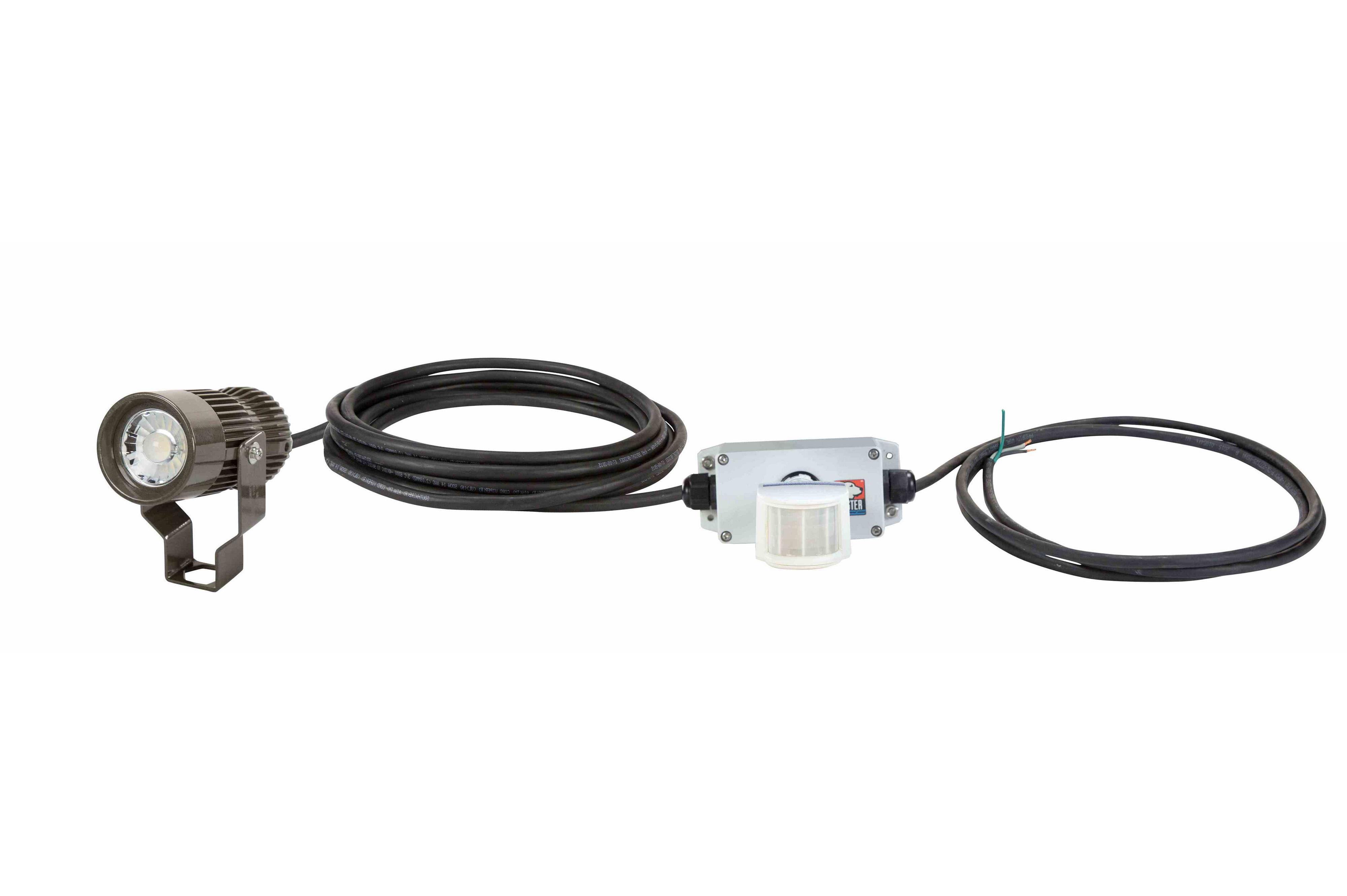 18 watt led industrial light fixture  night sensor