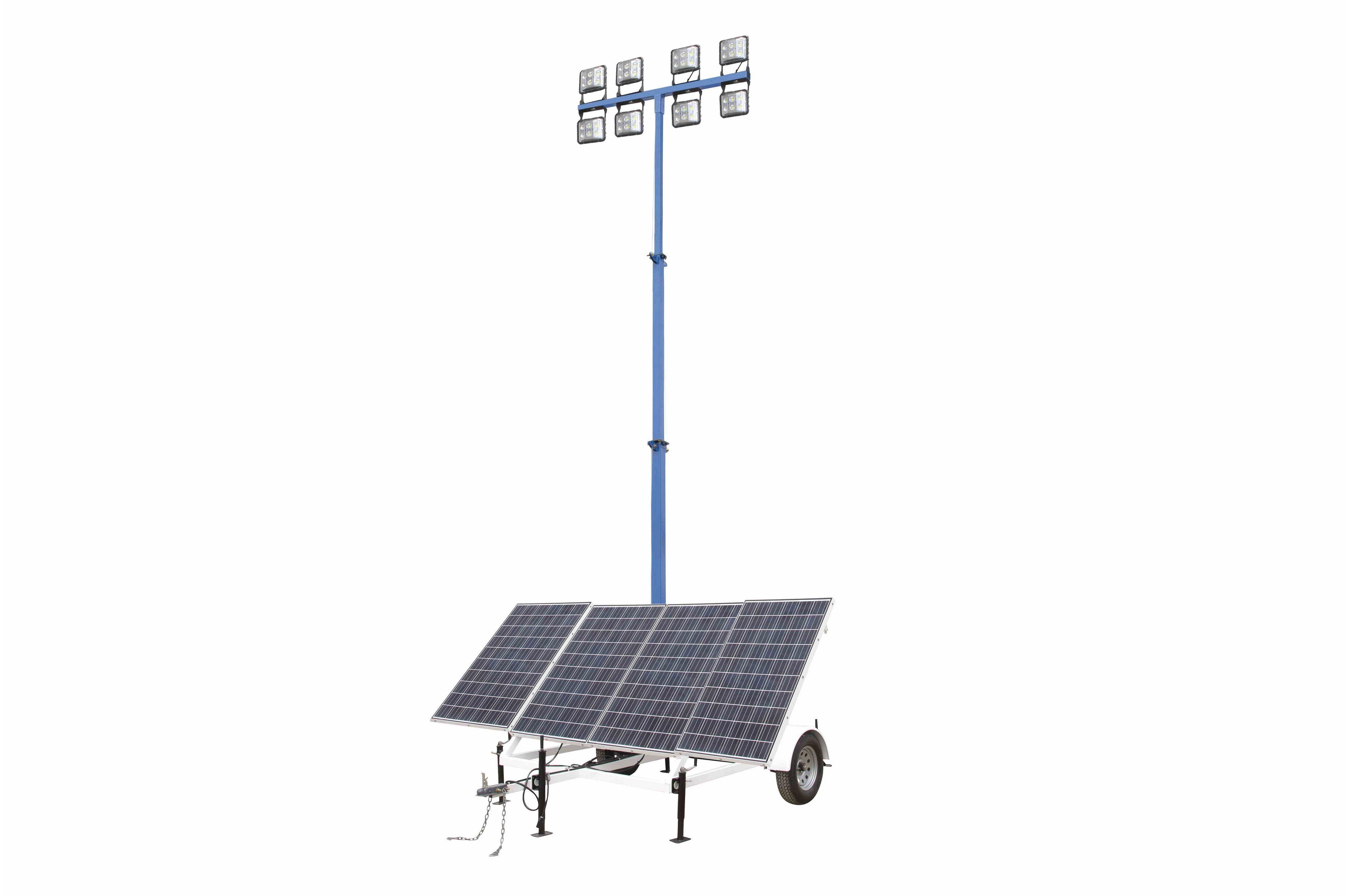 1.06 kW Solar Light Tower