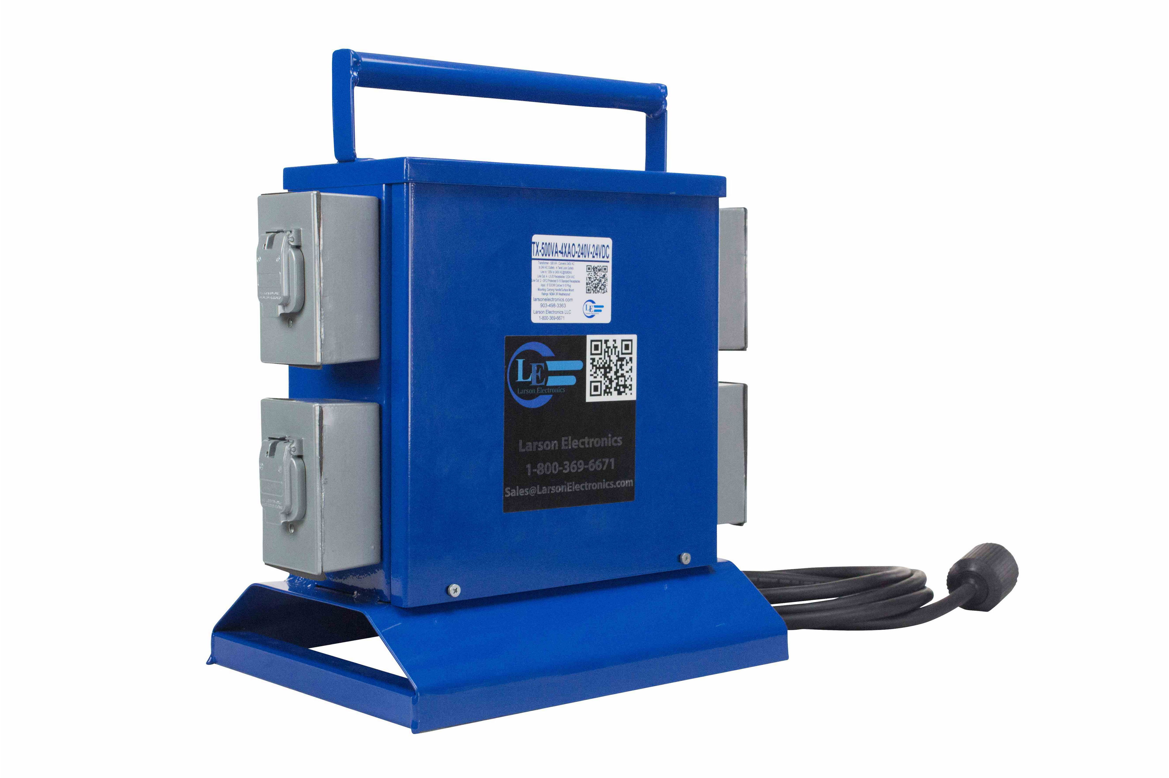 Transformer 500 Va Converts 120v Or 240v Ac To 12v Or