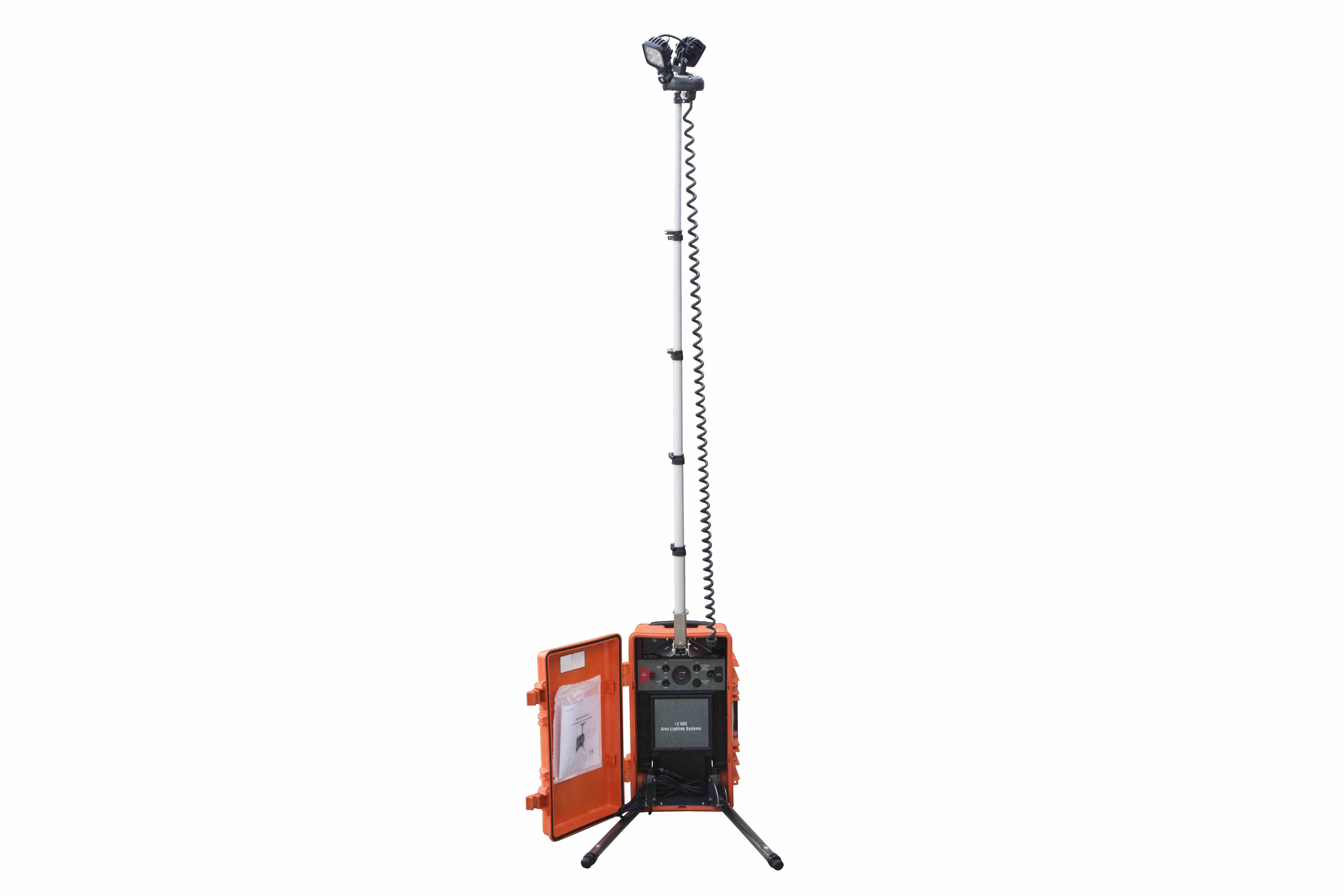 Larson Electronics Led Light Tower Battery Powered