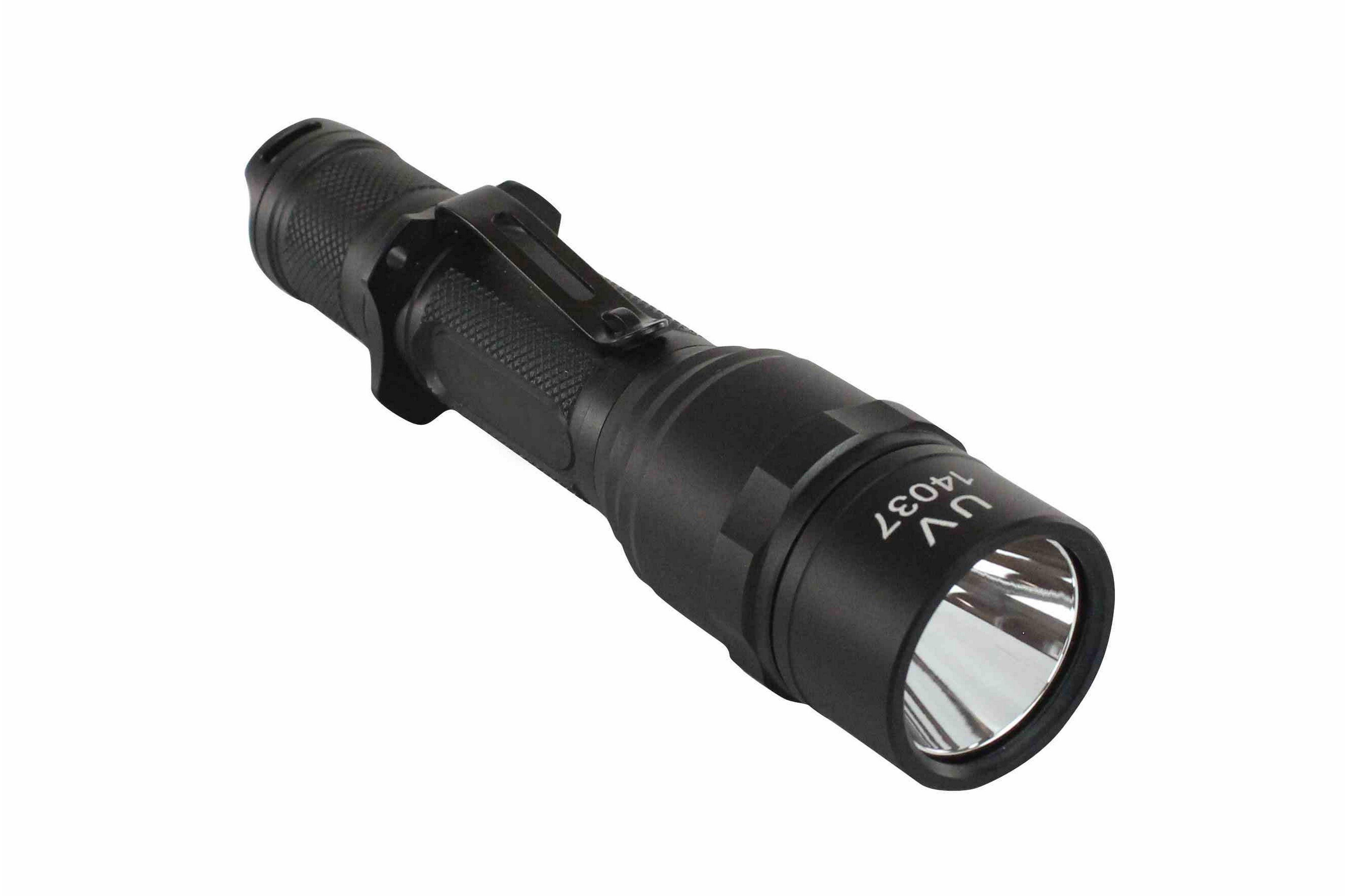 Rechargeable Uv Led Flashlight Accessory Kit