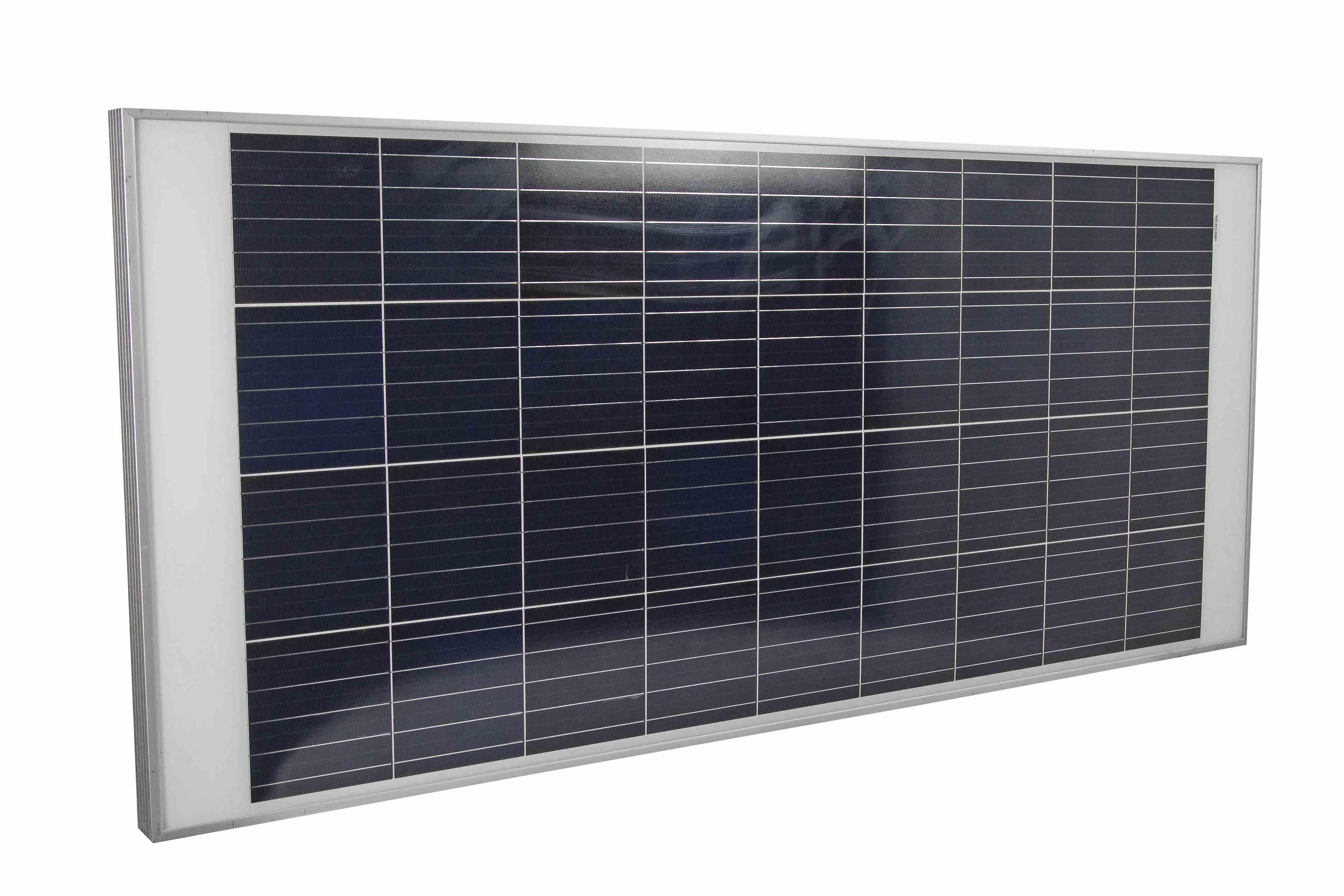 300 Watt Solar Power Panel - 60 Cell Utility Module - Anodized Aluminum  Frame