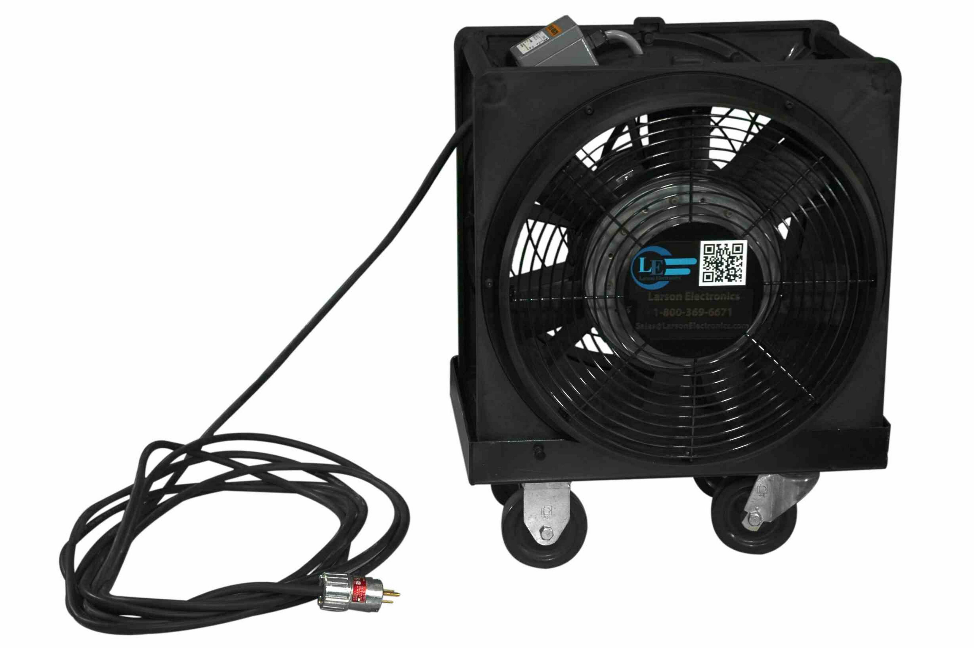 Explosion Proof Blowers : Electric explosion proof box fan blower cart cfm