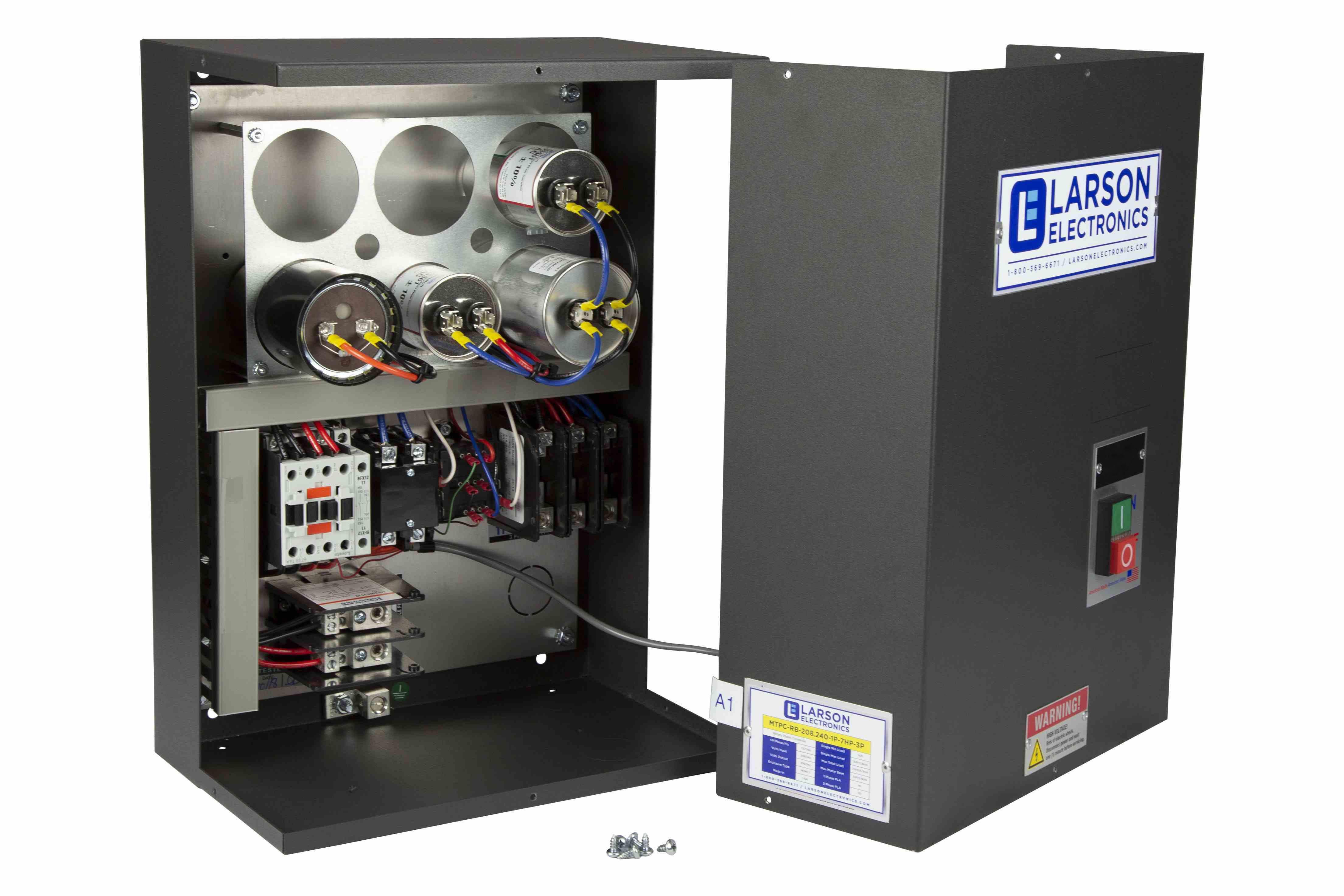 Rotary Phase Converter For 30hp Very Hard Loads  240v 1ph