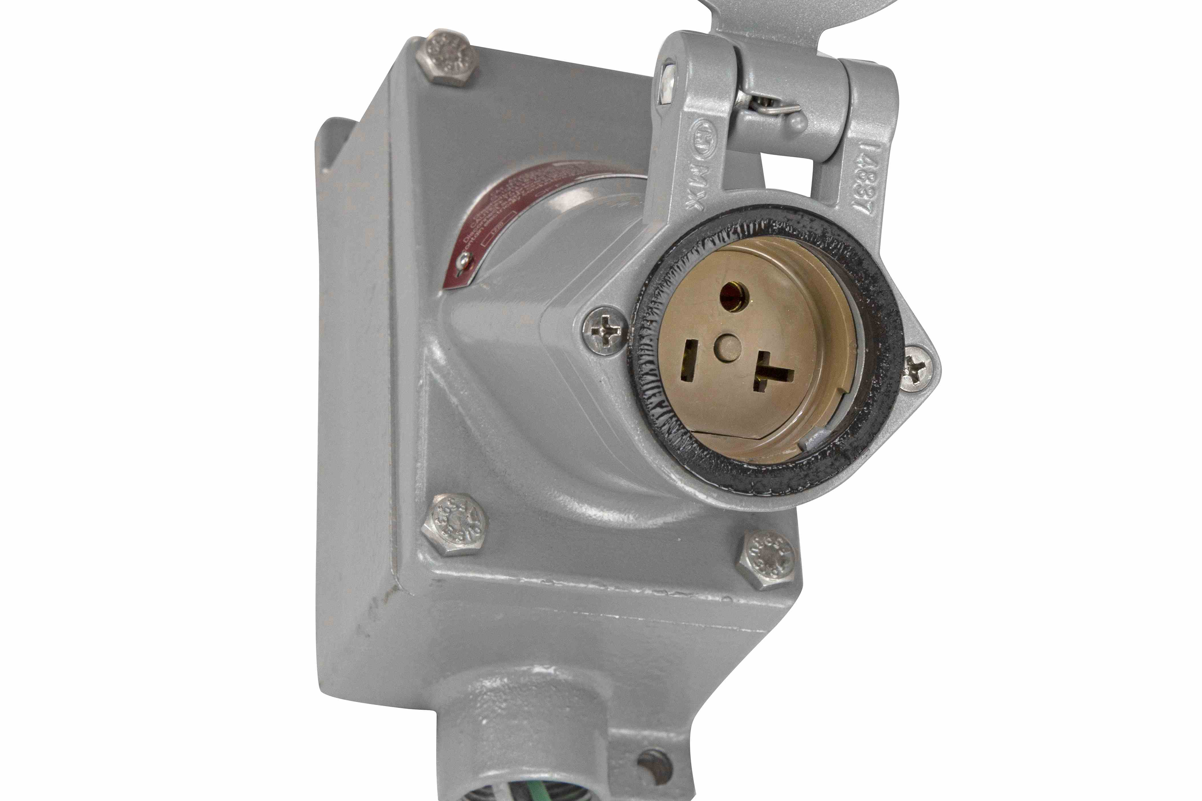 Explosion Proof Outlet 20 Amp Rated Larson Electronics Plug Not A Socket Feeding The Boat Ac System Hi Res Image 2