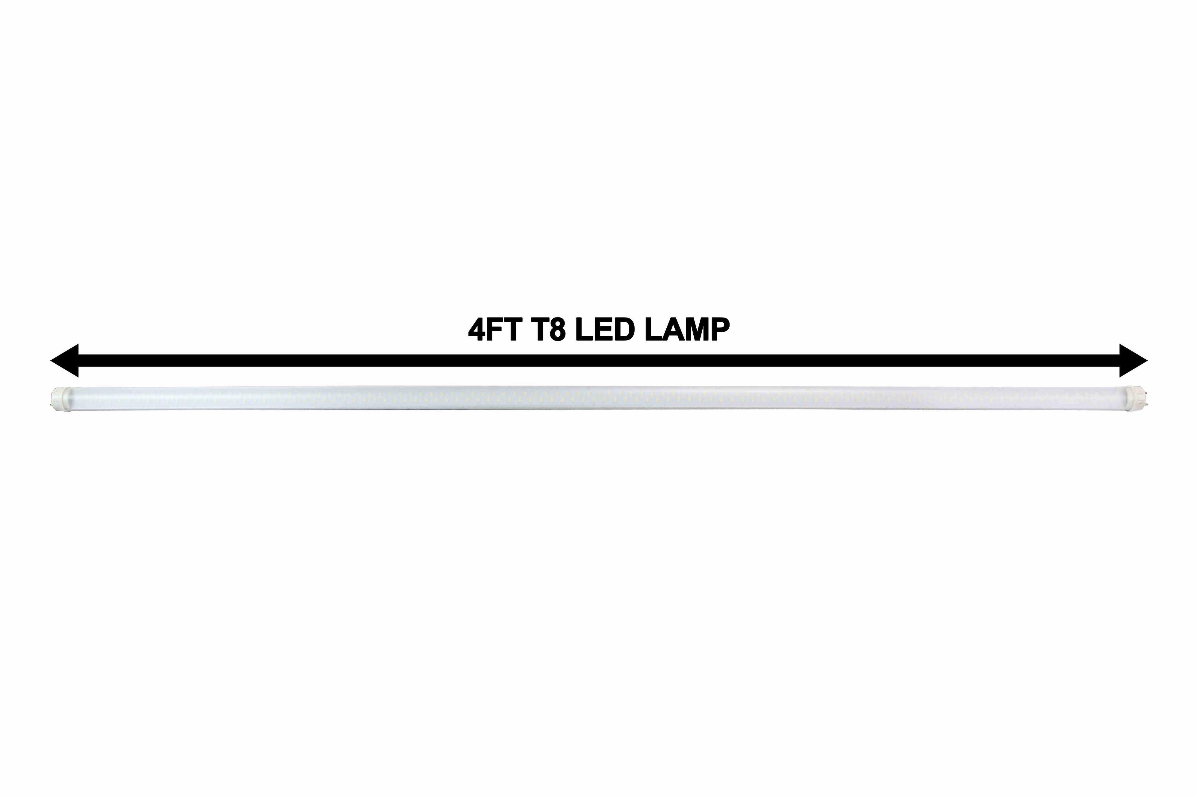 28 watt led bulb - 4 foot t8 lamp