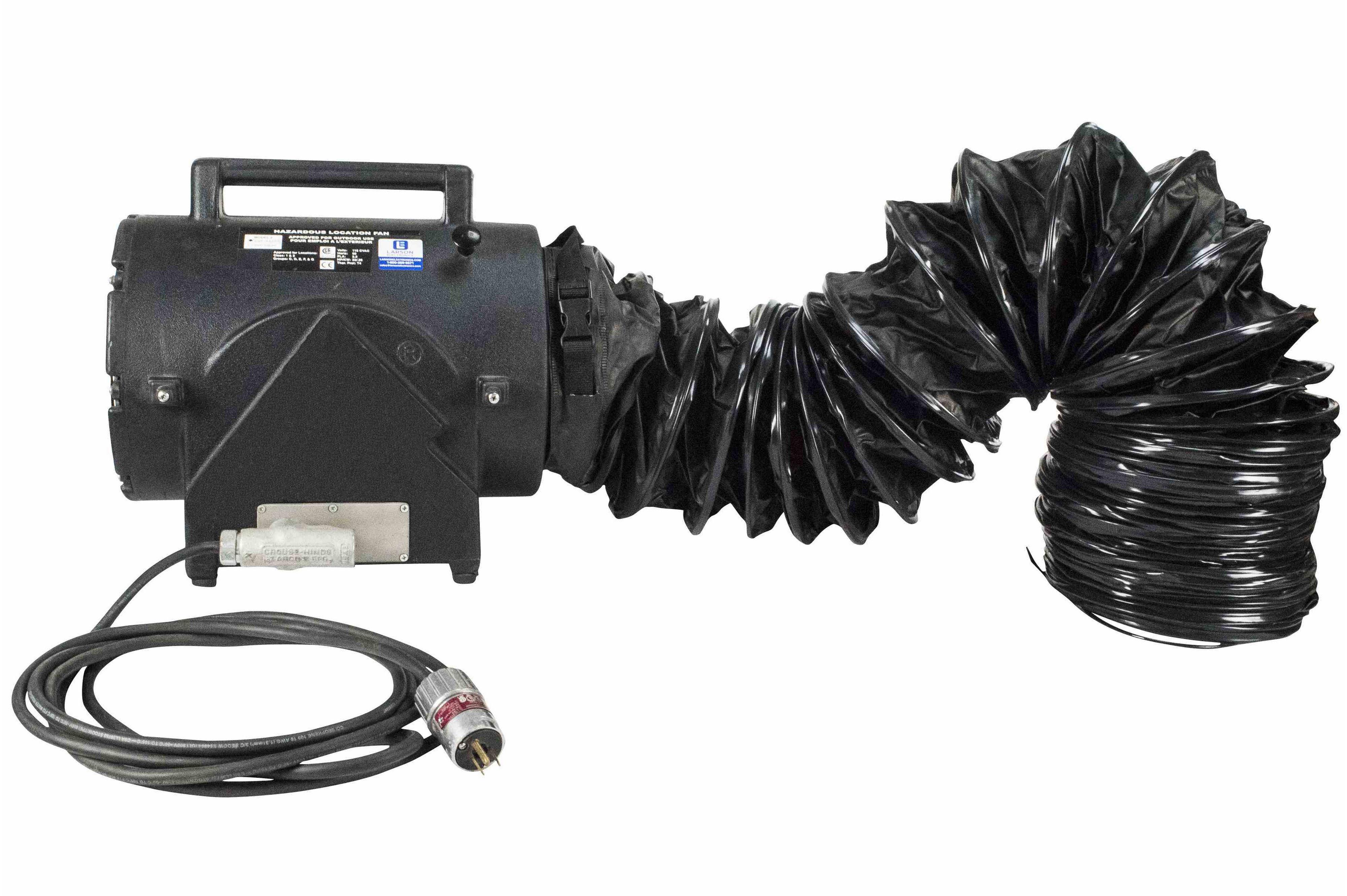 Exploion Proof Inline Blower Fan : Explosion proof electric inline axial fan ventilator