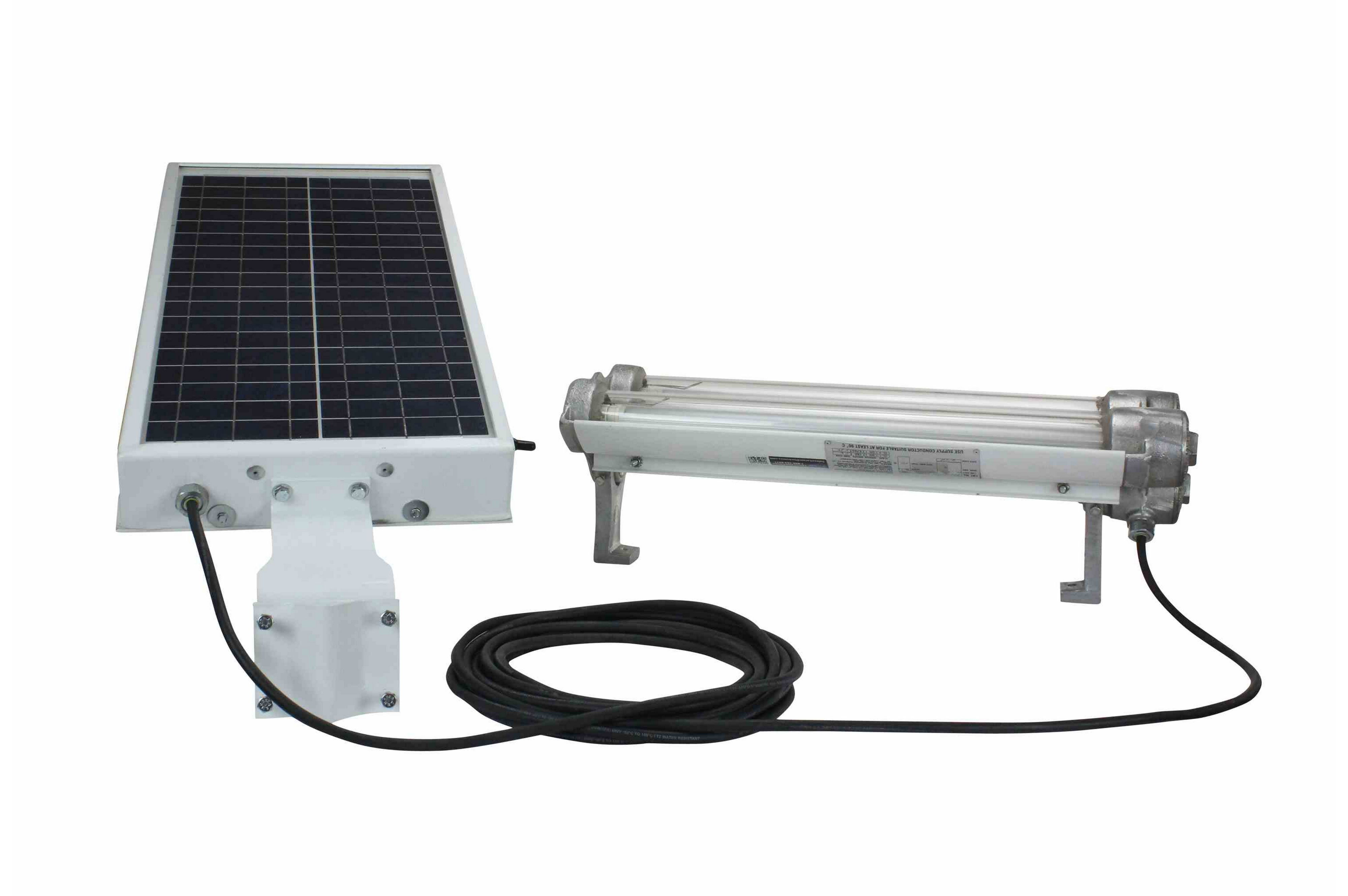 Solar Powered Explosion Proof LED Lighting - C1D1