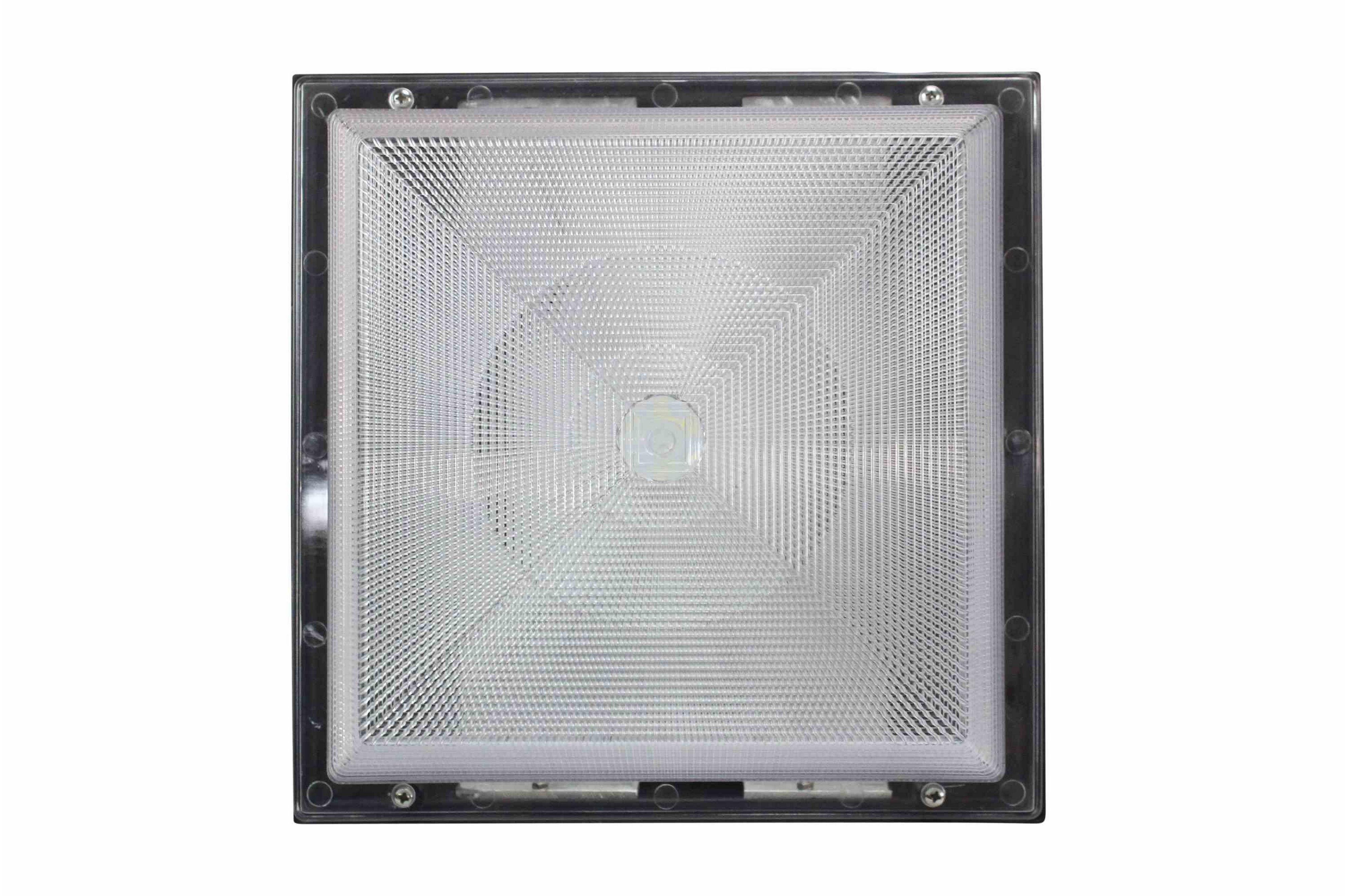 90 watt traditional led canopy light replaces 400 watt metal halide fixtures 120 277v ac. Black Bedroom Furniture Sets. Home Design Ideas