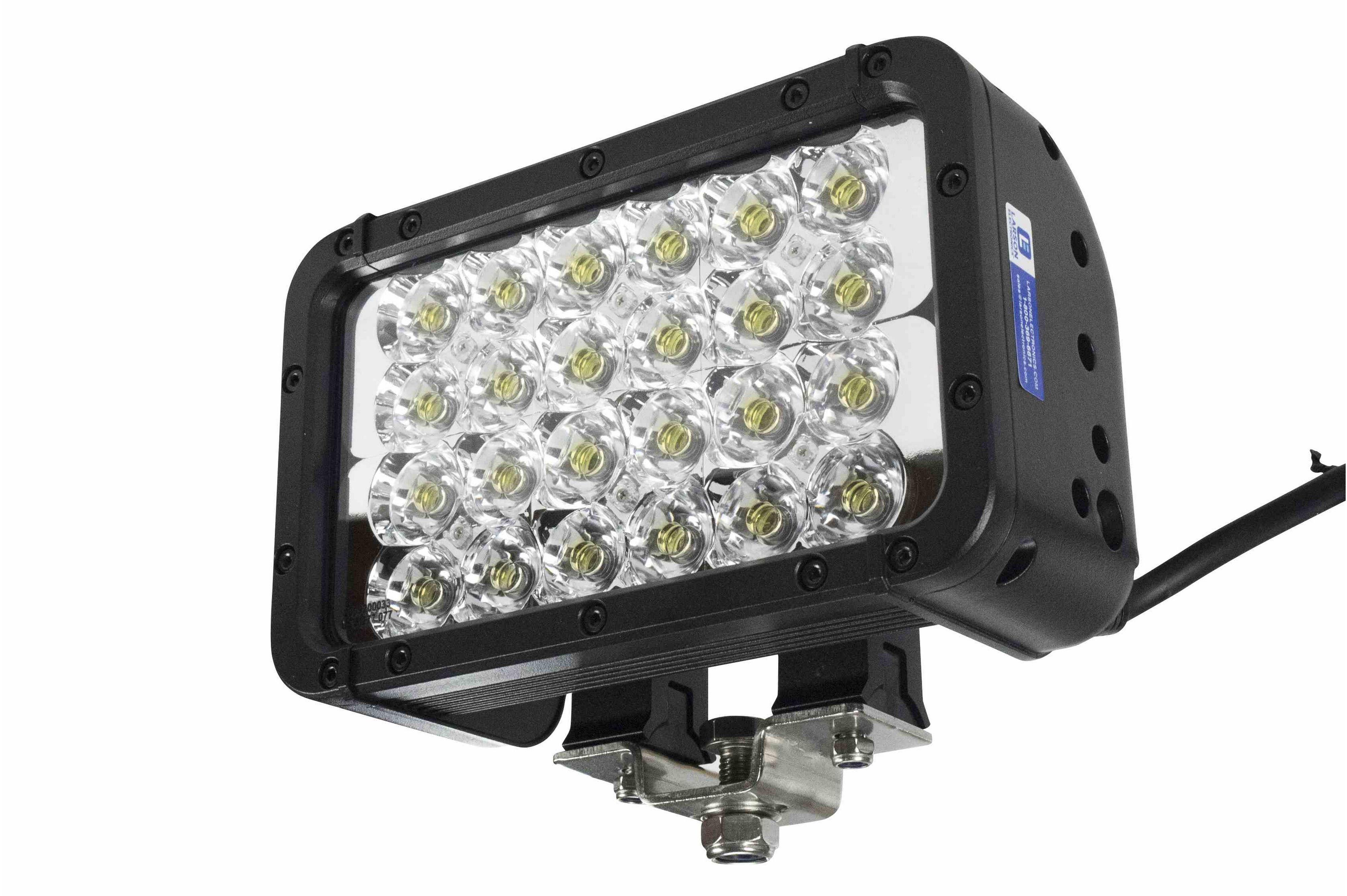 Led Ir Emitter Light 24 Leds 72 Watts 900l X 100w Beam 9 Temporary Lamp Illuminator Hi Res Image 3 Angle