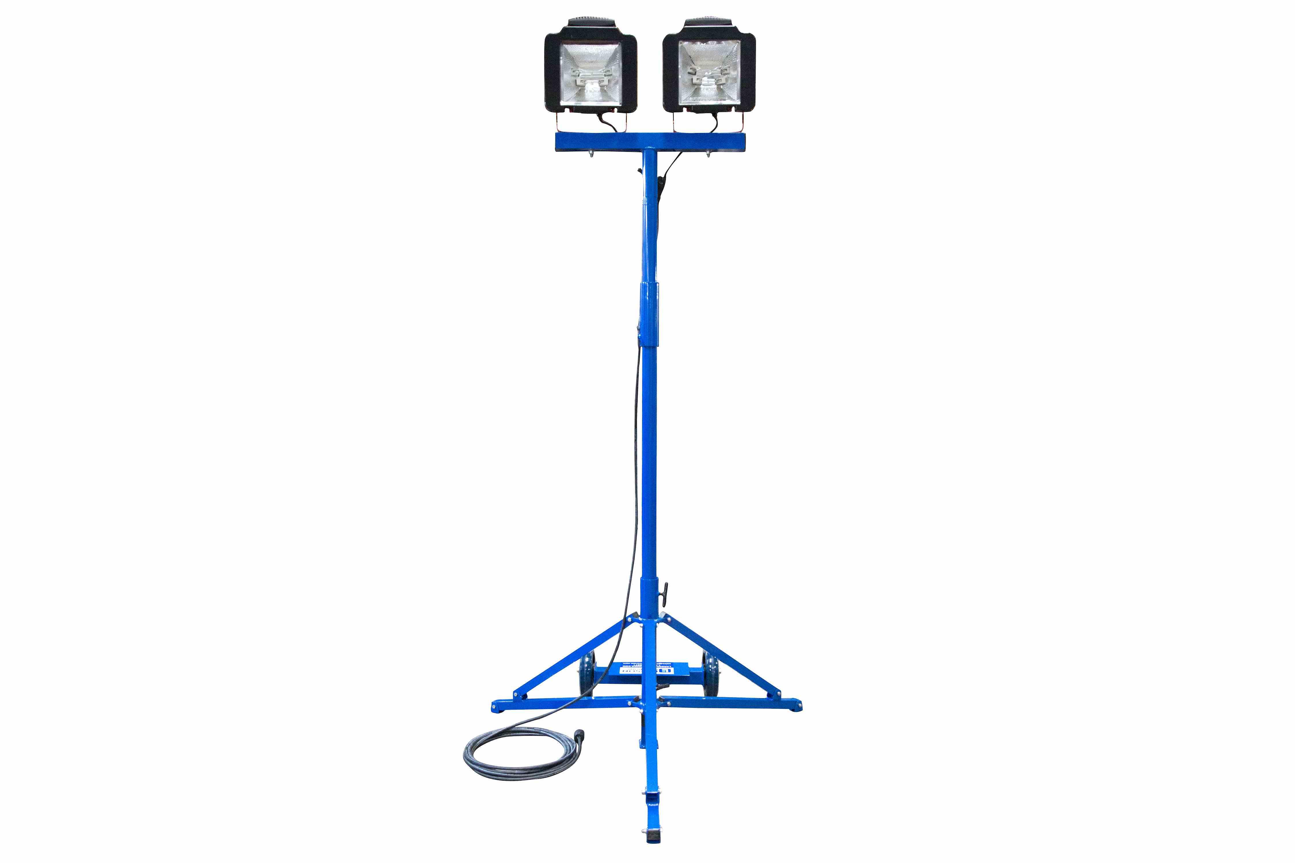 work area flood light - quadpod mount