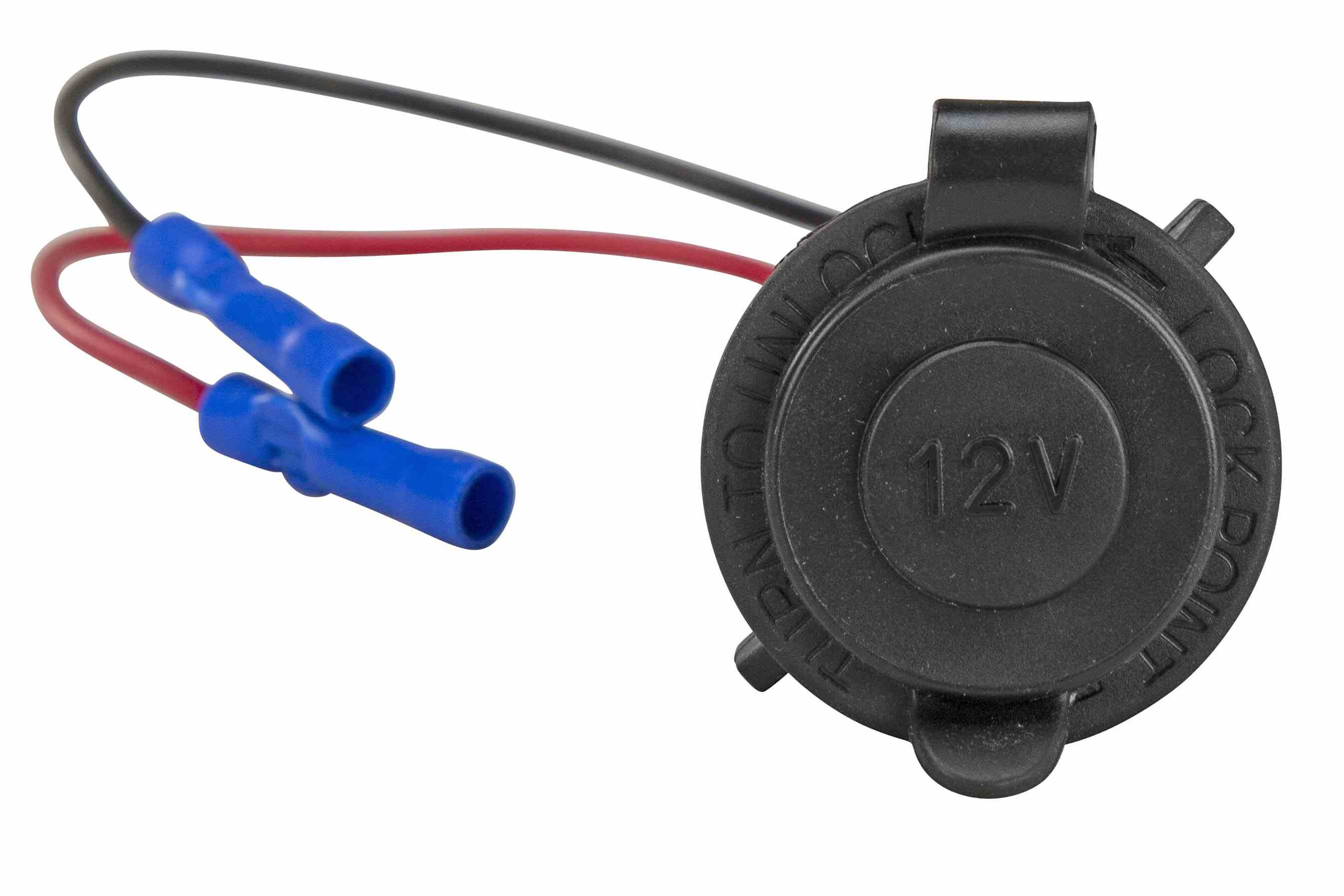 Cigarette Lighter Plug Socket Marine Rated For Boat Use 12 24 Volt Wiring And Receptacle Hi Res Image 3