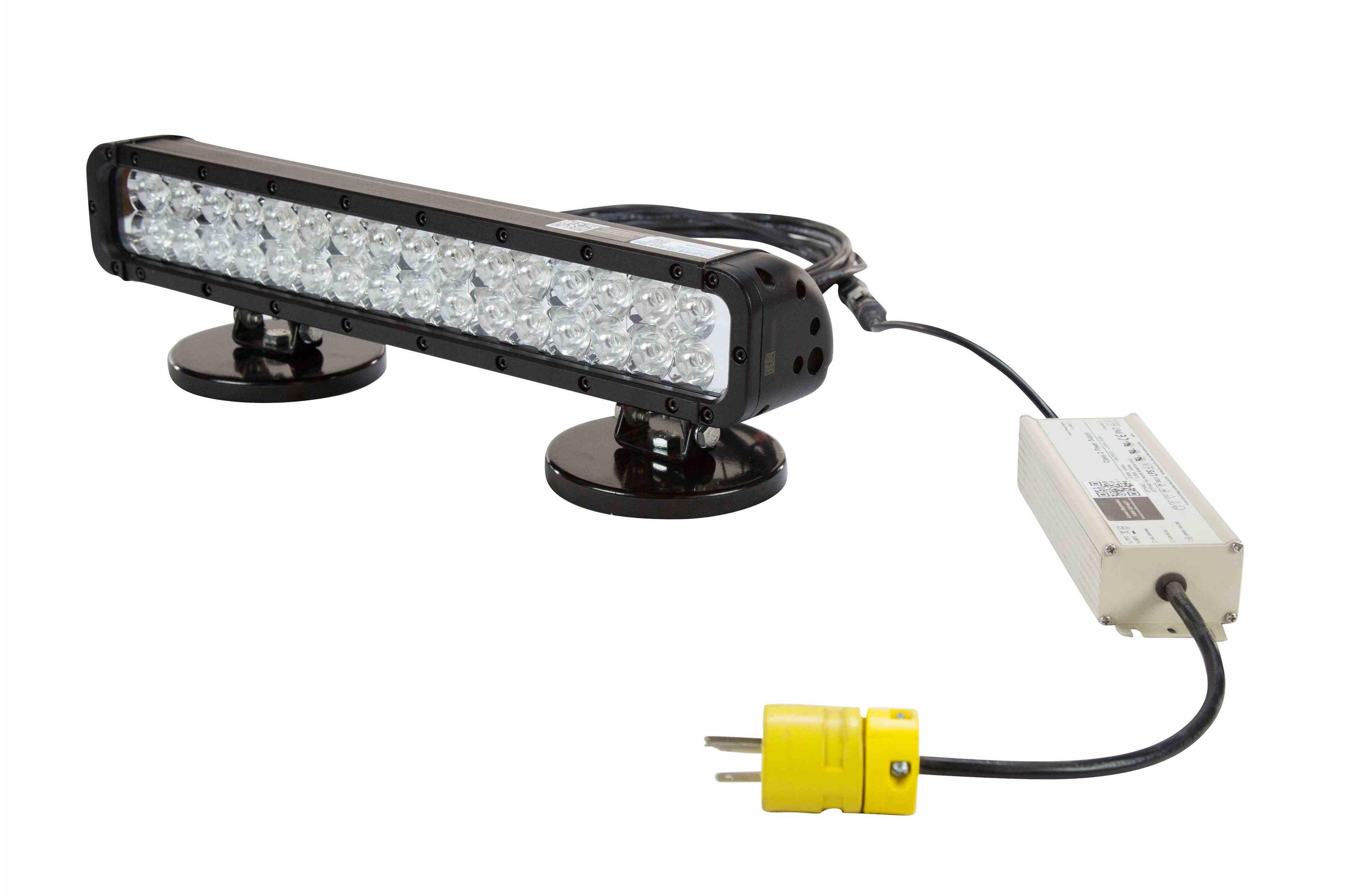 110 Volt Medical Infrared Led Light Bar W   Magnetic Bases