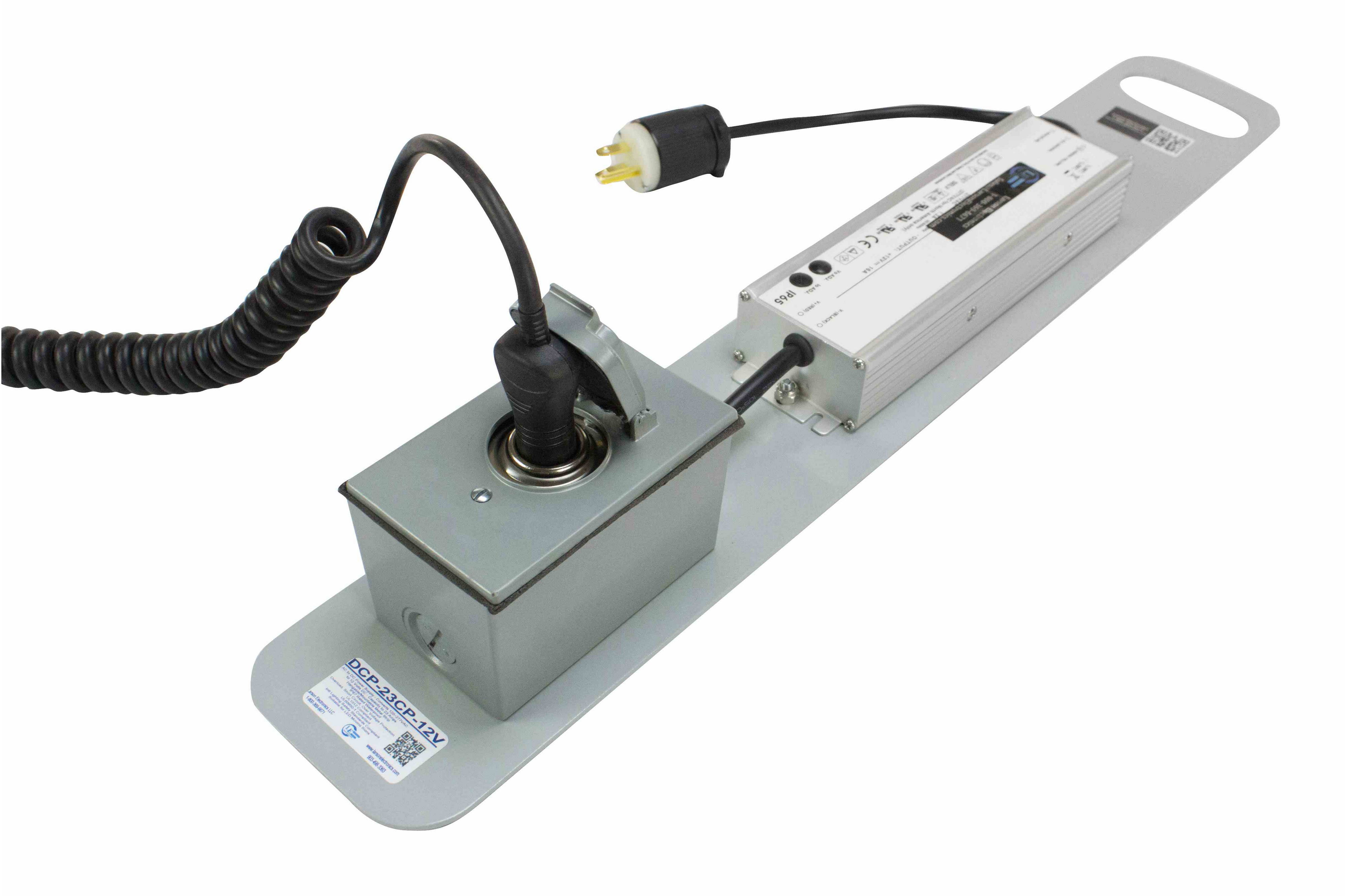 AC to DC Power Supply - Converts 110-277V AC (wall outlet) to 12 ...
