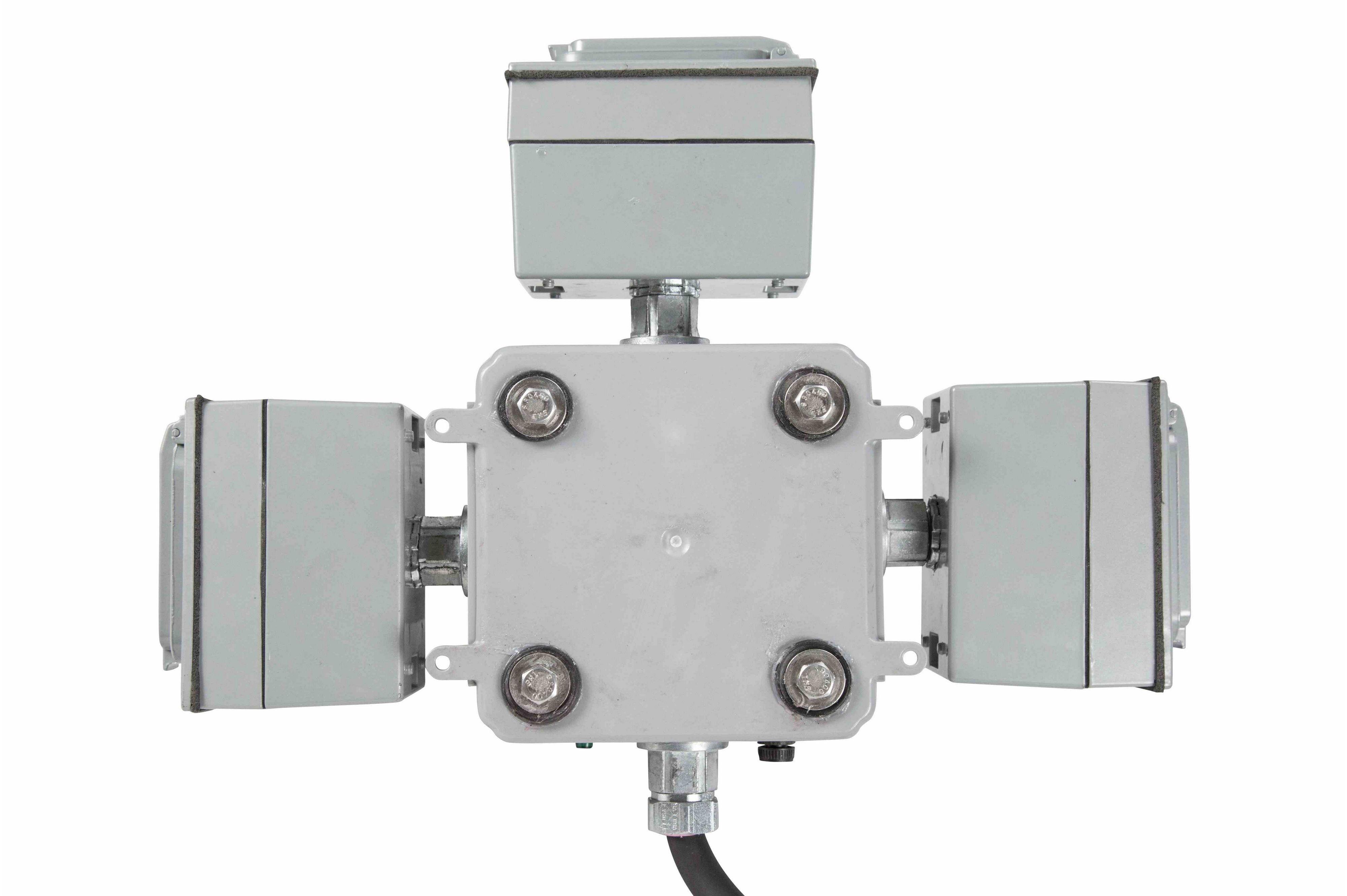 120V GFCI Receptacles - NEMA 4 Enclosure - 3-Dual Receptacle, 20-Amp ...