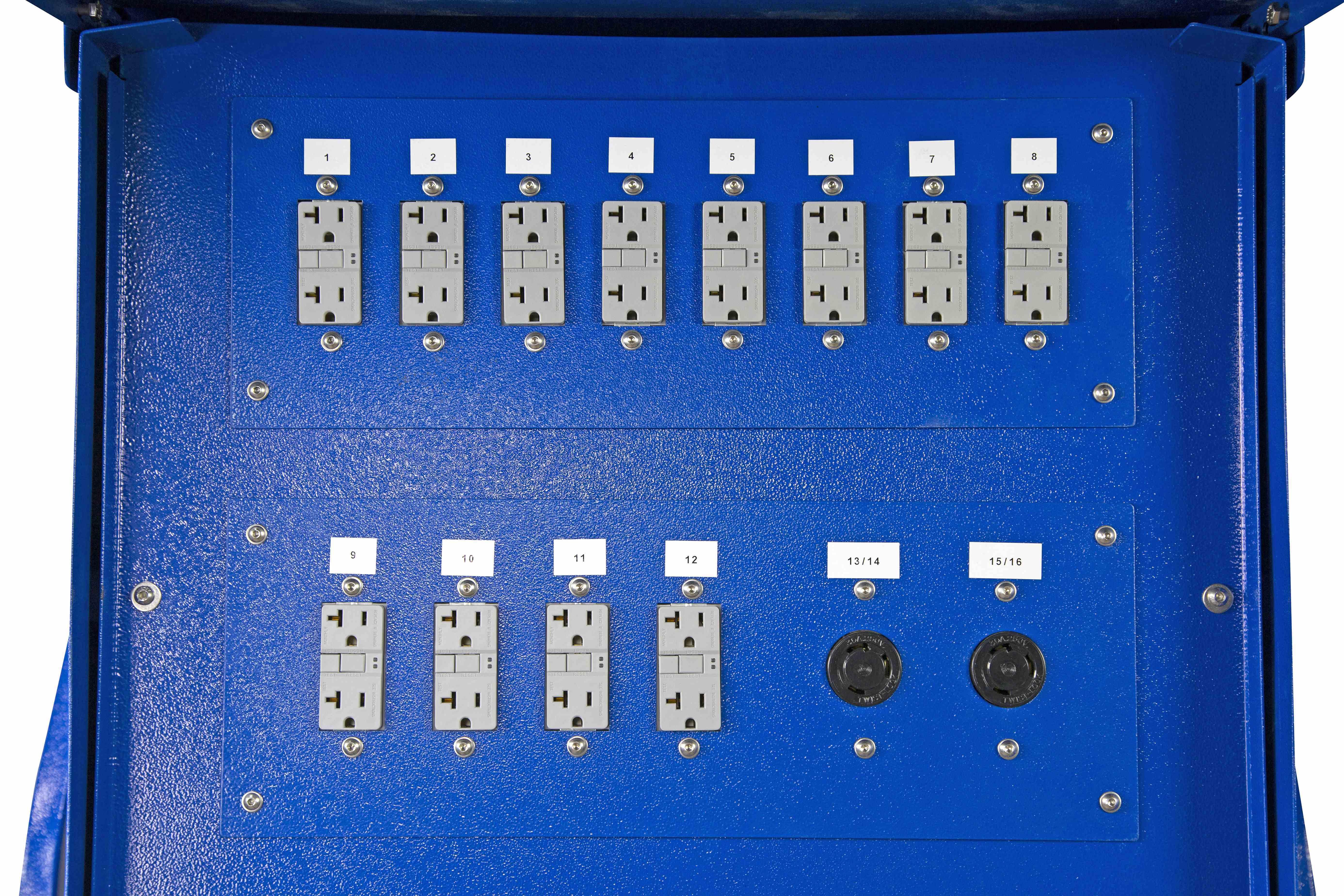 15 Kva Temporary Power Distribution 208v To 208y 120v 3ph 8 5 Wiring Diagram 3 Phase Panel 120 Hi Res Image 6 Breaker