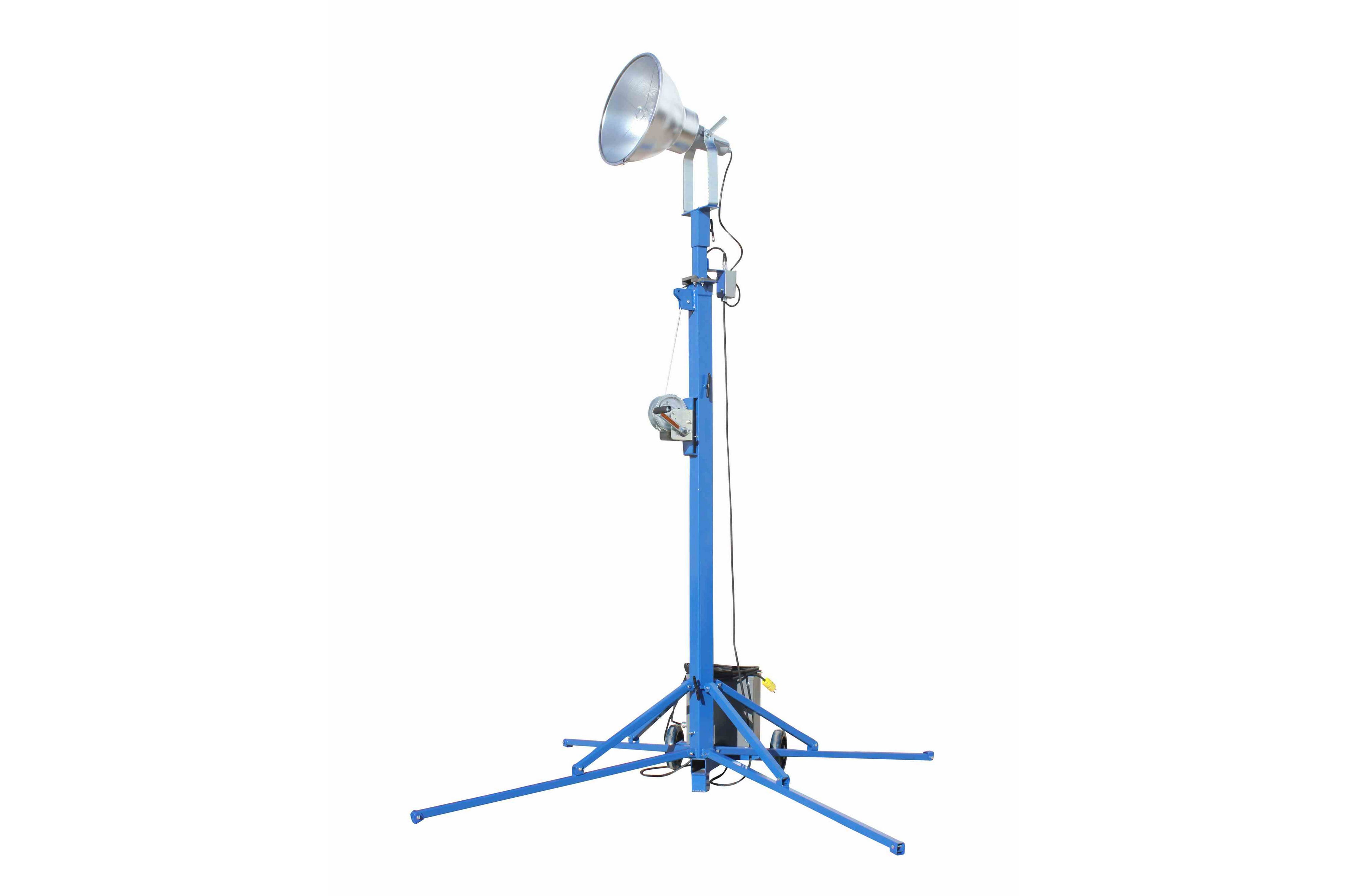 Portable Metal Halide Lights : Portable light tower watt metal halide covers