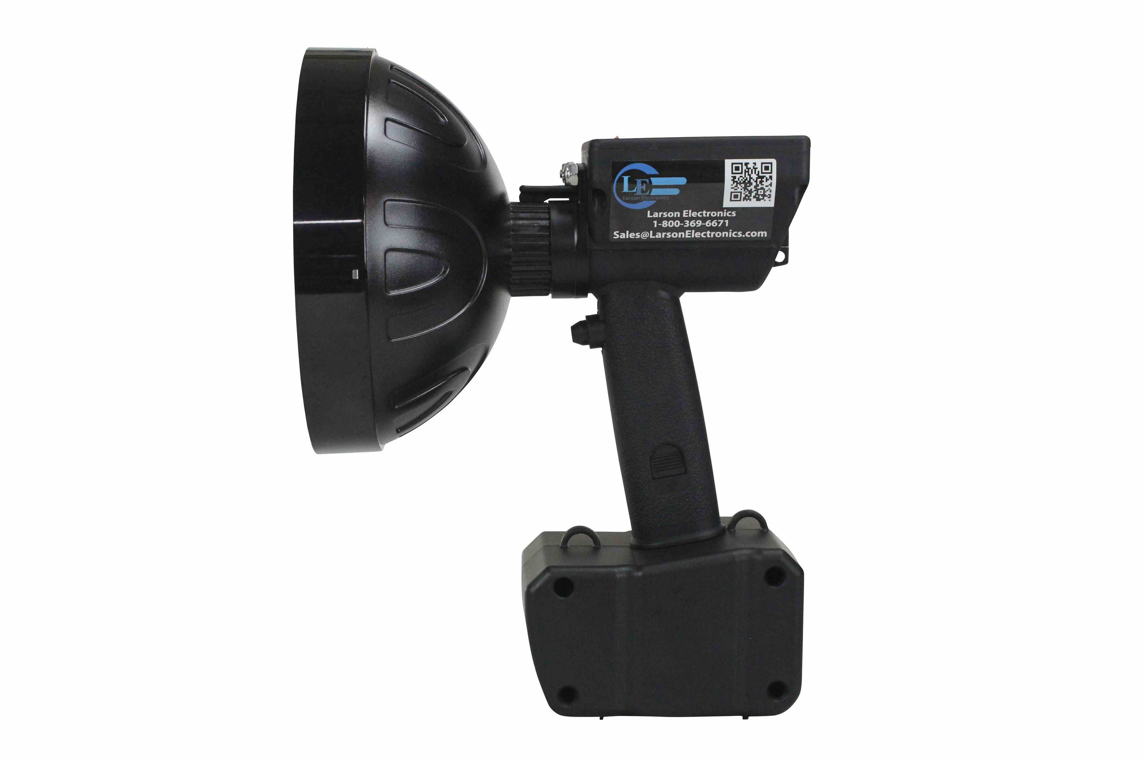 Larson Electronics 0909P4QNZUY 2006 Chevrolet Cobalt Coupe Post Mount Spotlight 100W Halogen 6 Inch -Black Driver Side with Install Kit