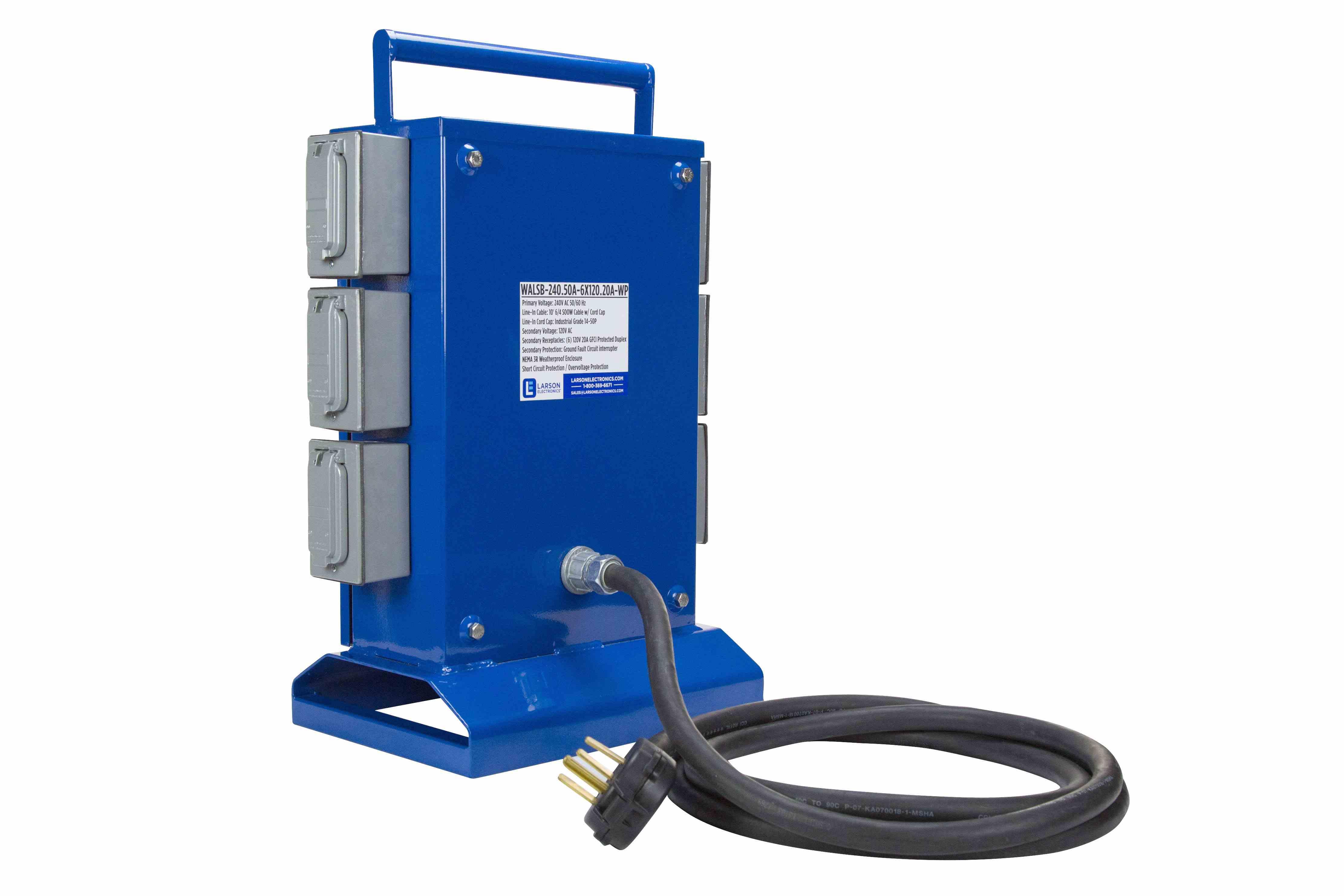 Spider Box 240 Volts Ac To 120 6 120v 20a Gfci Short Circuit Outlet Hi Res Image 9 Transformer