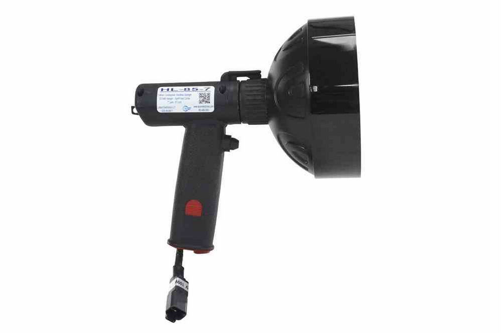 Flood Lights With Extension Cord : Million candlepower handheld spotlight red hunting lens