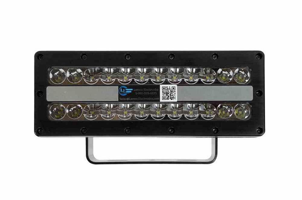 120-277V AC 20,500 Lumens -Recessed Mount 160 Watt High Intensity LED Flood Light 24 LEDs