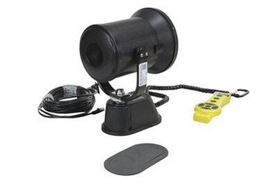 Motorized Remote Control HID Spotlight - 3200 Lumens - Front View