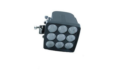 90 Watt LED light Produces 7200 lumens – Side & Front View