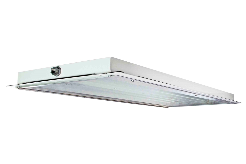 hazardous area led light fixture - 6 lamp - c1d2