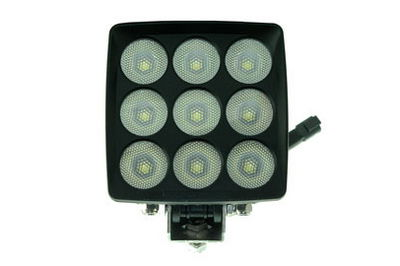 90 Watt LED light Produces 7200 lumens – Front View