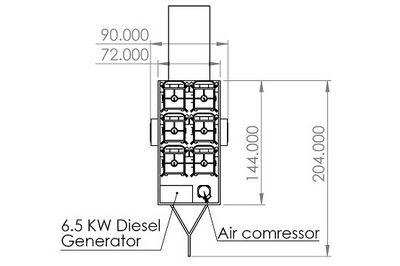 6XWC-30-2X300W-TLR-WAP