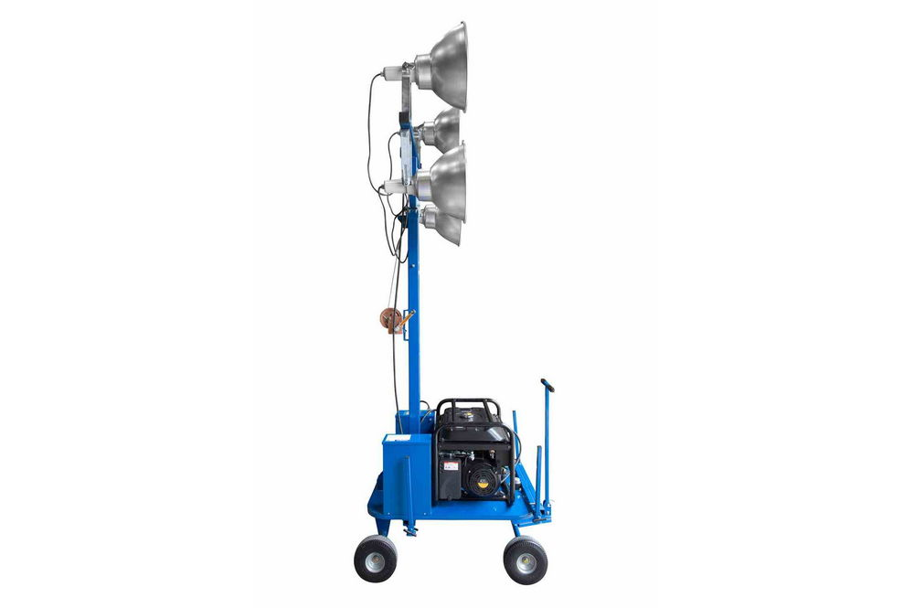 4000 watt non towable mini light tower with wheels four. Black Bedroom Furniture Sets. Home Design Ideas