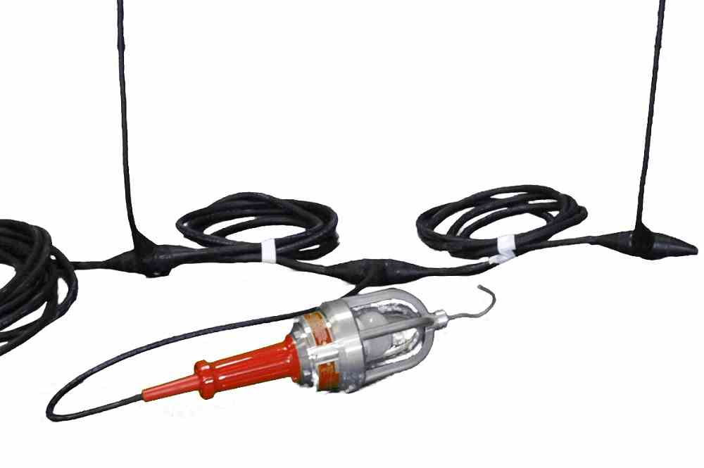 Explosion Proof Led String Lights : Explosion Proof LED String Lights - 3 Hand Lamps - Class 1 & Class 2 - Larson Electronics