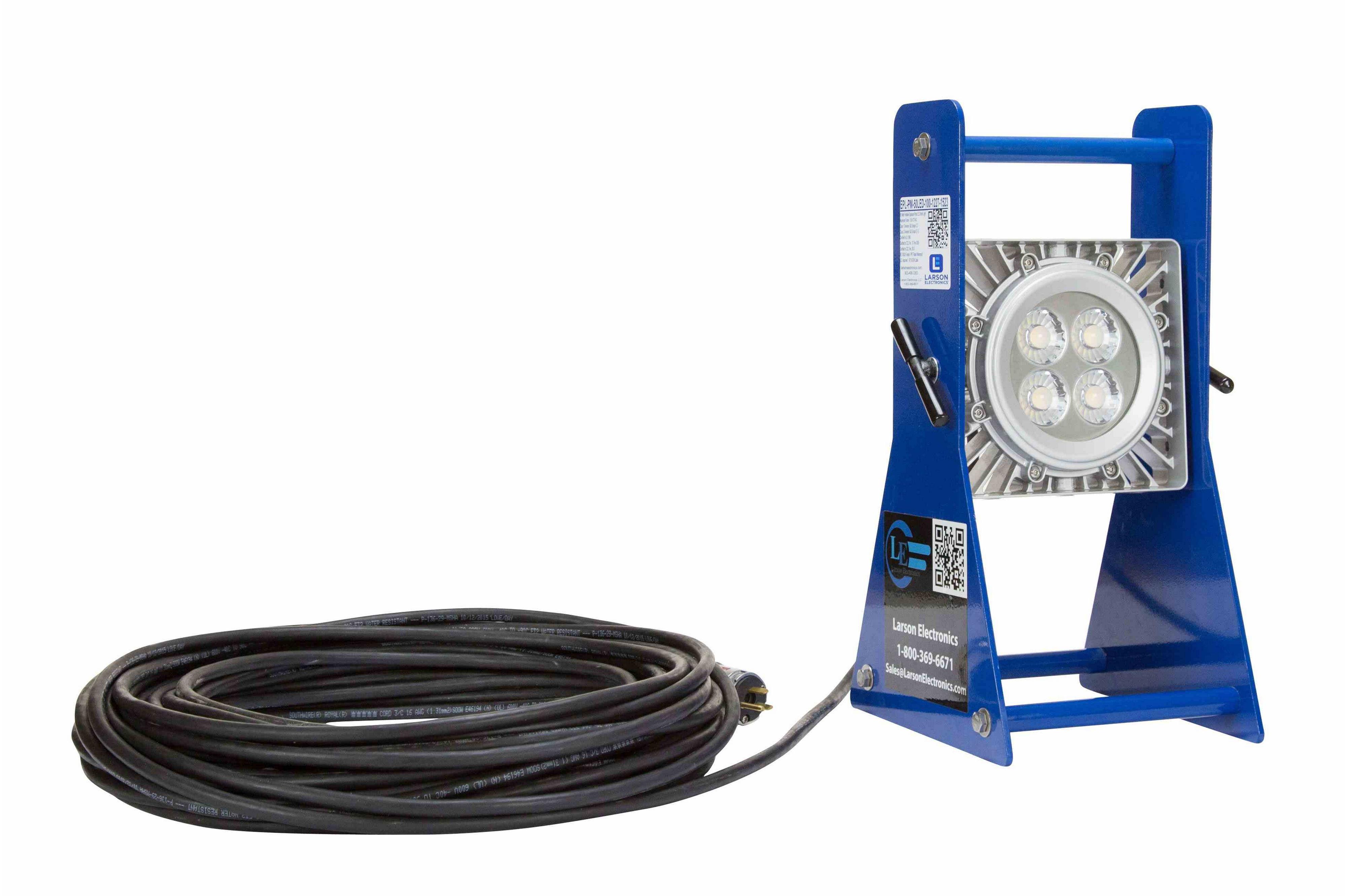50 Watt Portable Explosion Proof Mini LED Brick Light C1D1C2D1 – Explosion Proof Light Wiring Diagram