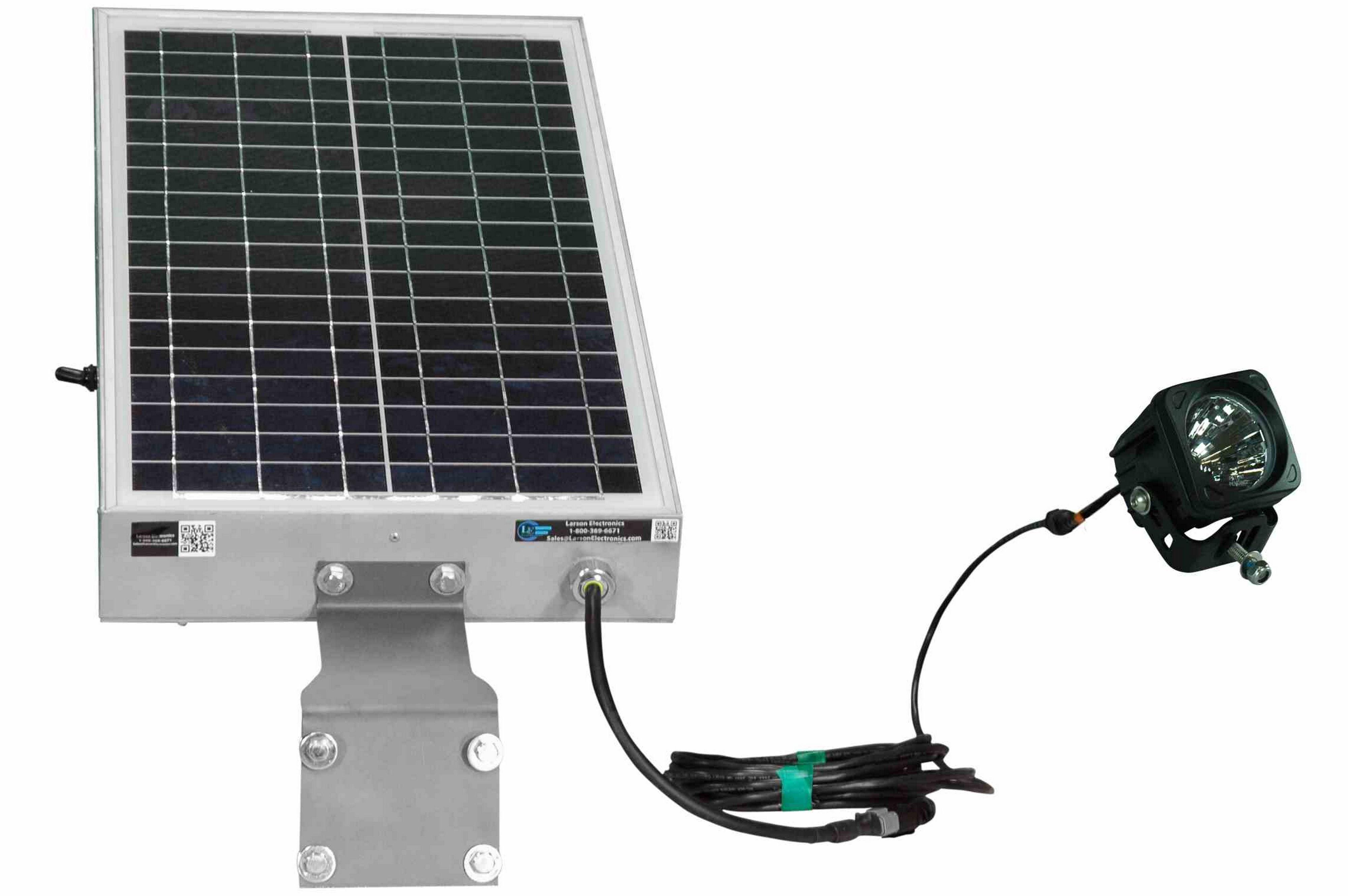 Solar Powered 10 Watt Led Light 12 Hour Run Time Day