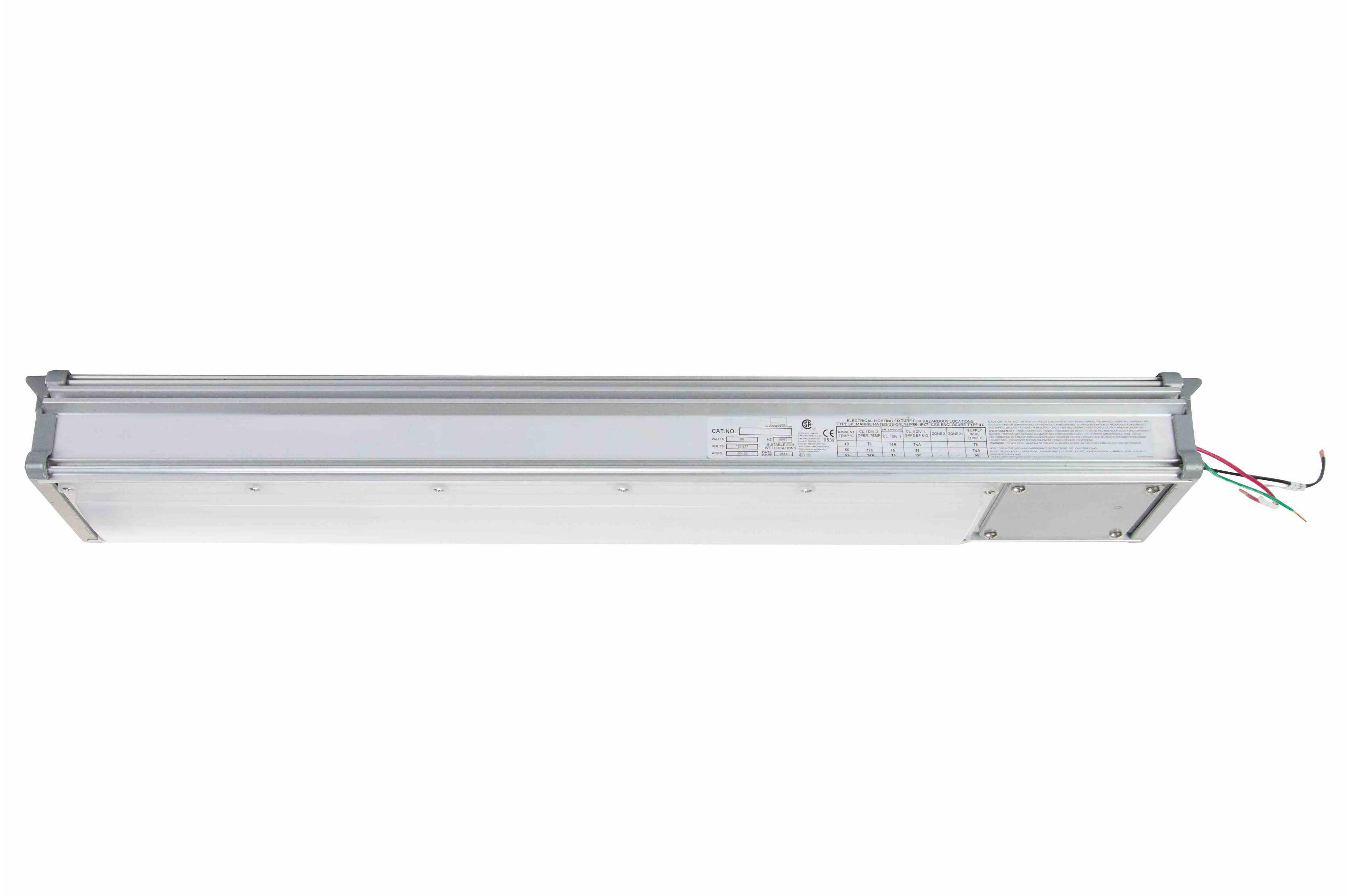 60w hazardous location integrated led light fixture 7700 lumens hi res image 2 25w hazardous location integraged led light fixture side arubaitofo Gallery