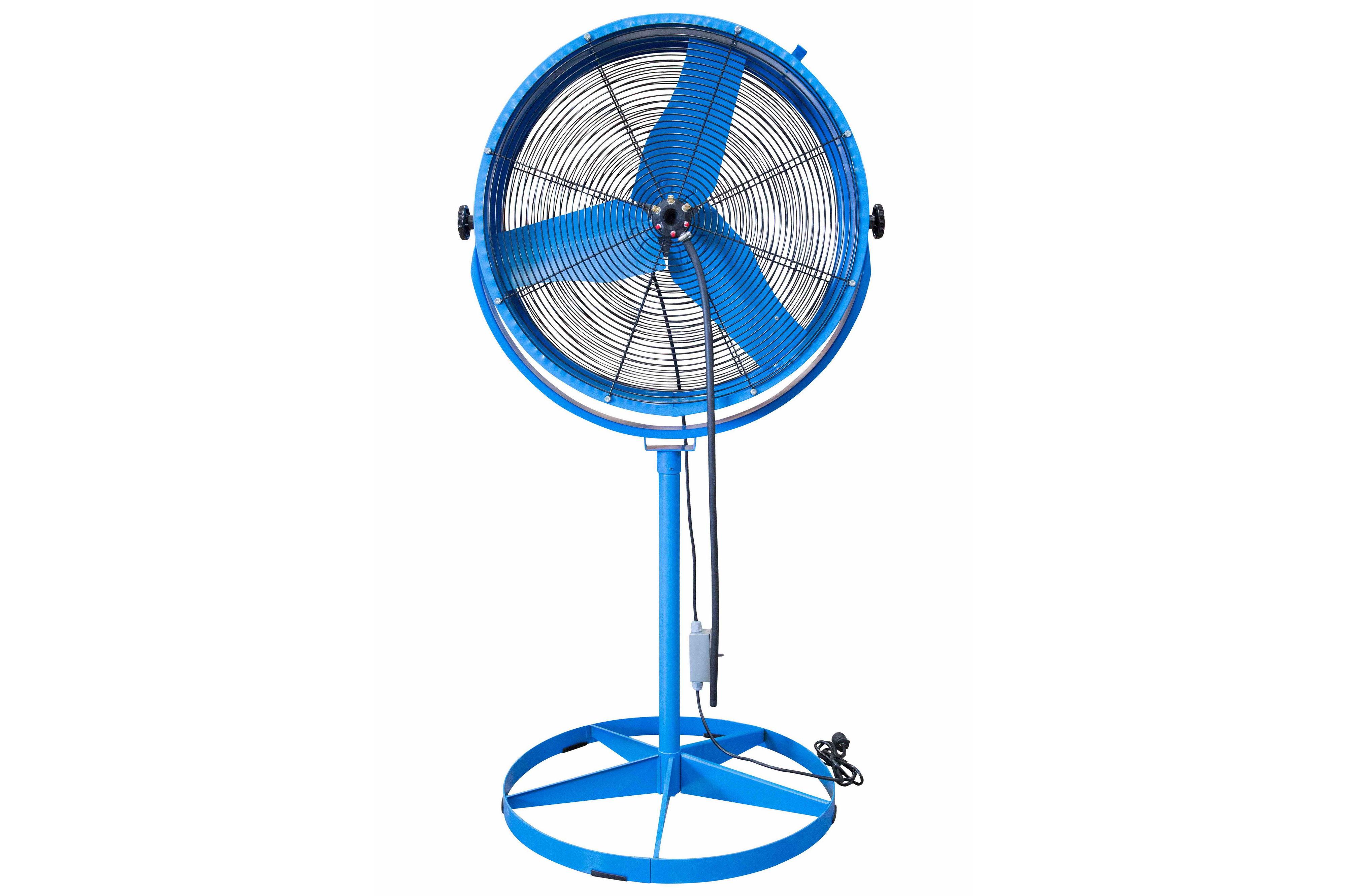 portable evaporative air mister cooler 8723 cfm water mist