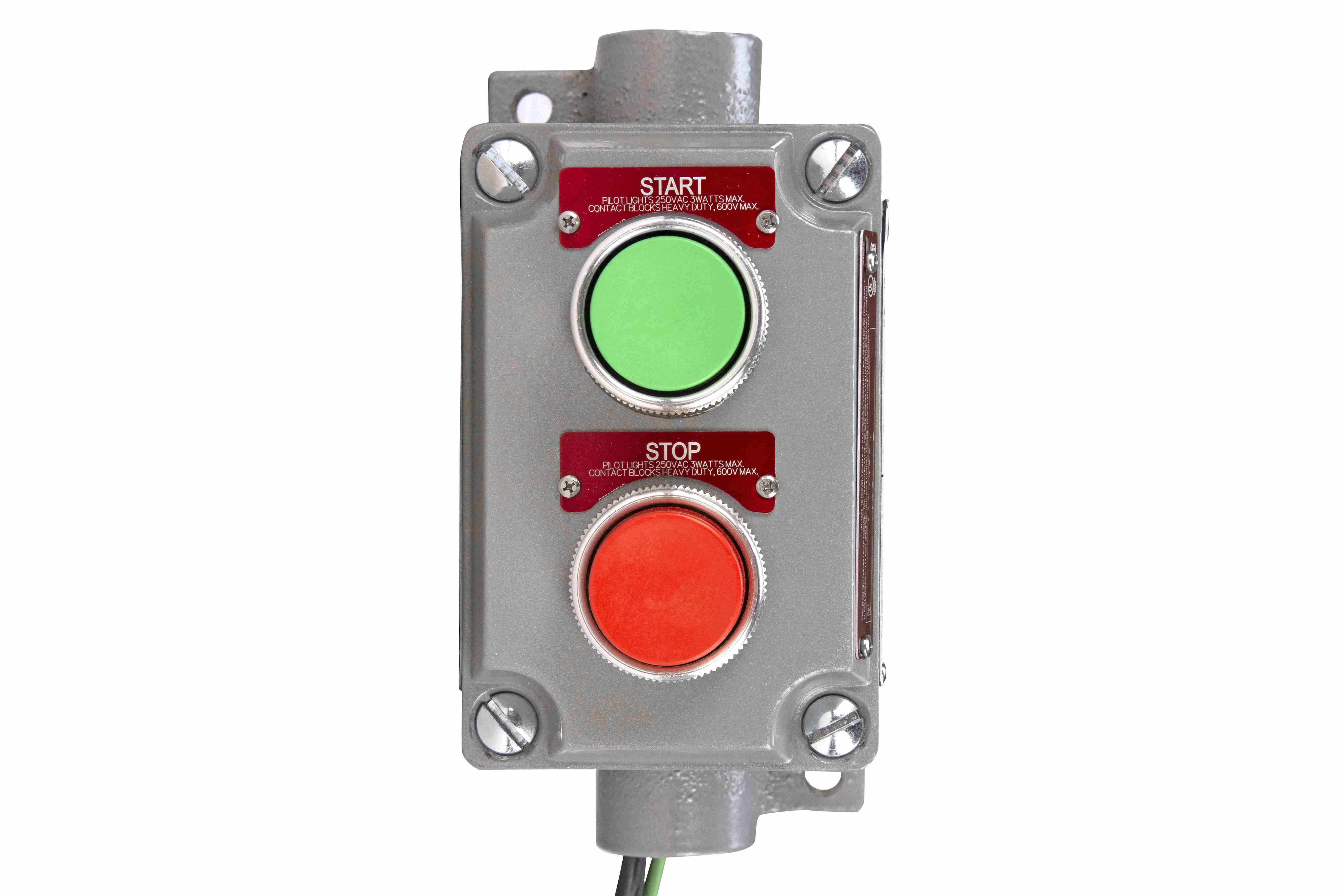 Explosion proof push button 480v stop start switch c1d1 for Class 1 div 2 motor starter