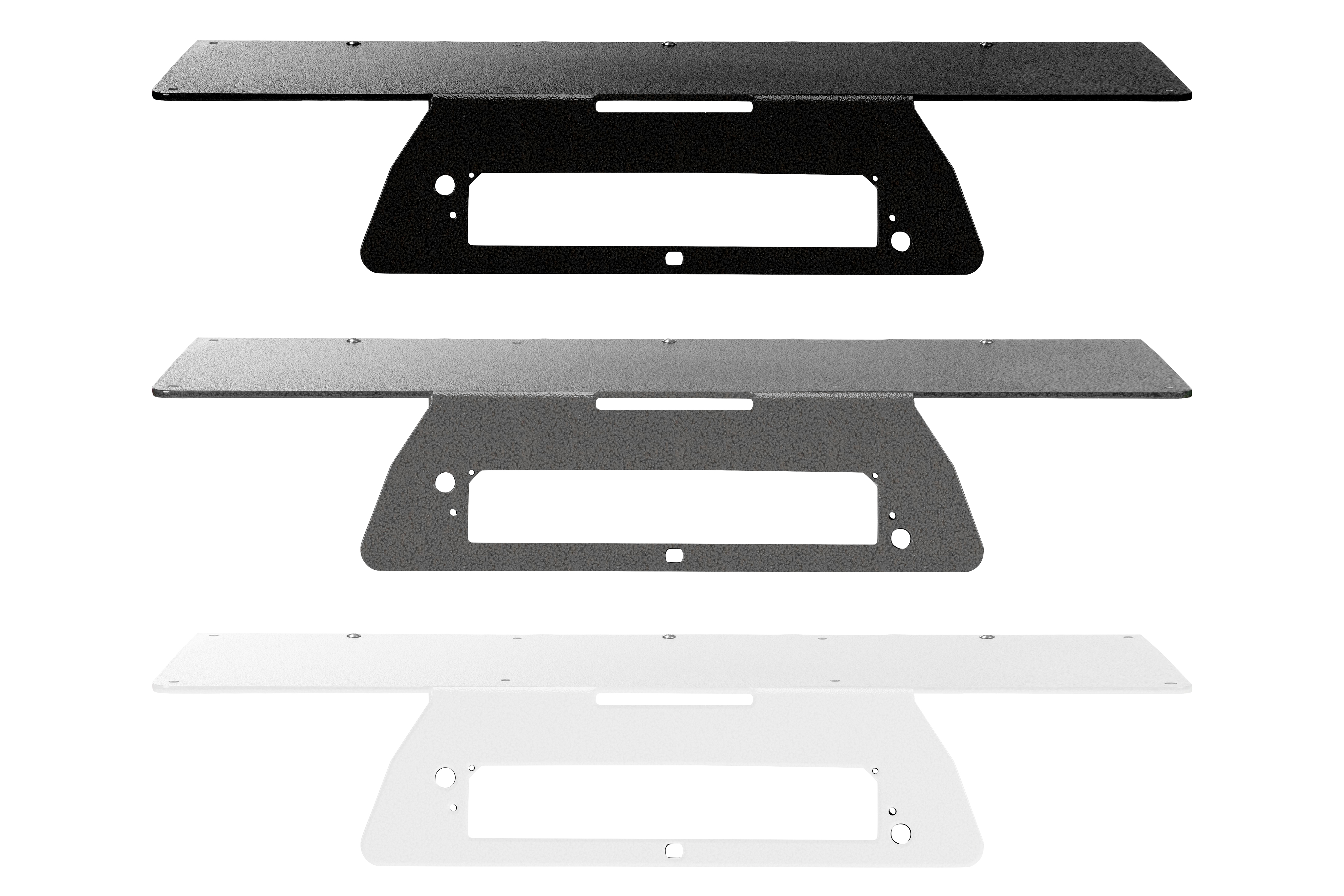 2009-2014 Ford F150 Truck Permanent No Drill Aluminum Mounting Plate ...