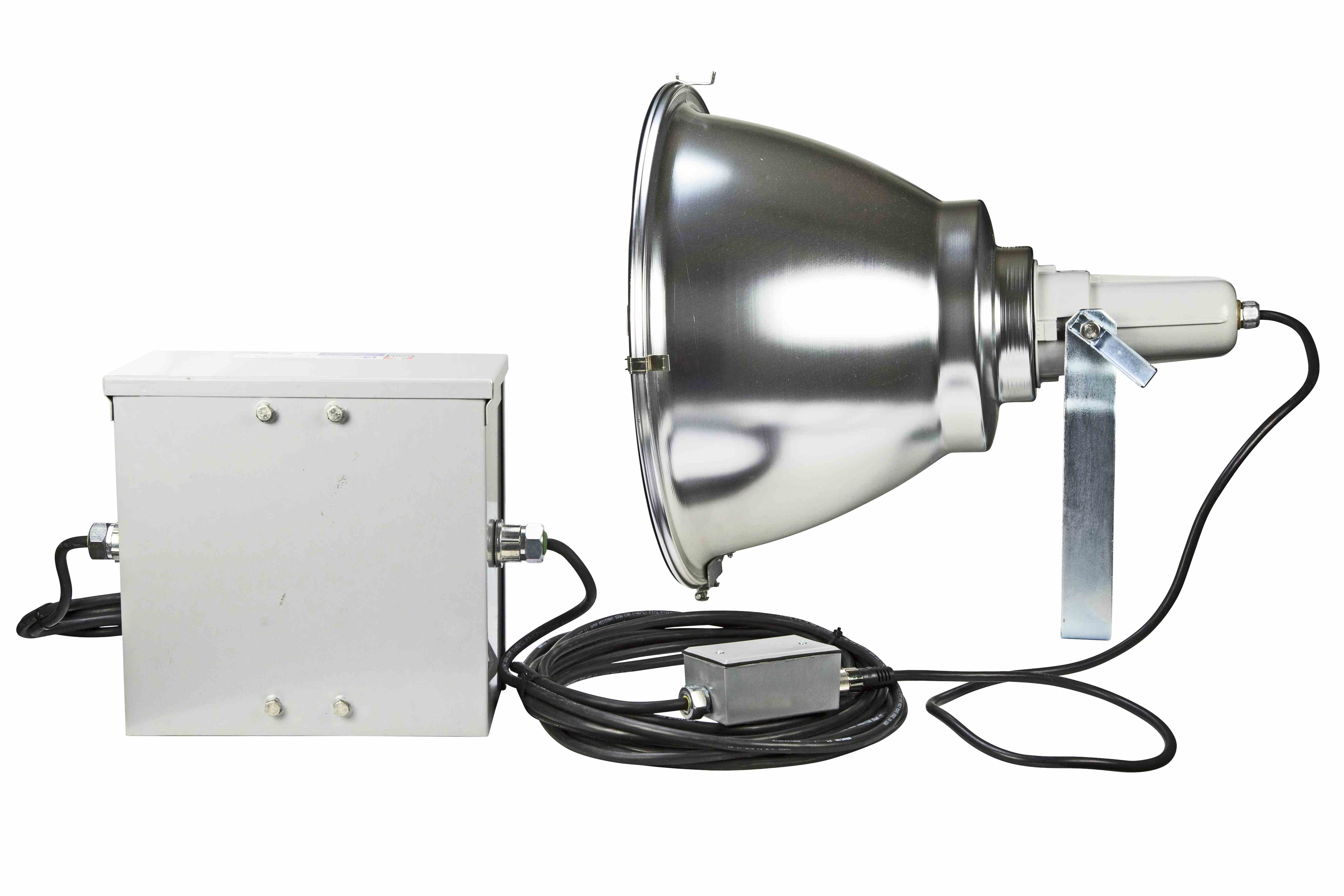 Metal halide light w remote ballast 1000 watt hid flood beam hi res image 4 metal halide light w remote ballast arubaitofo Choice Image