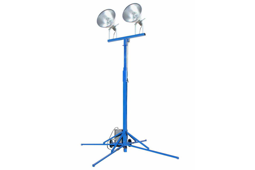 Portable Metal Halide Lights : Portable light tower watt metal halide lights