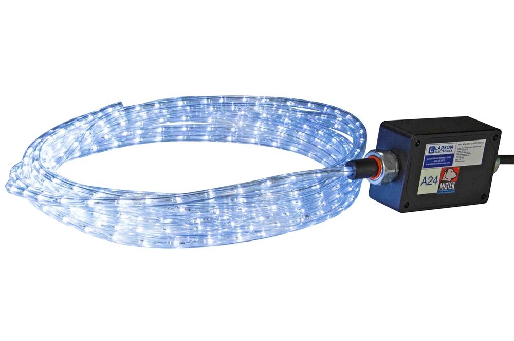 30 weatherproof led rope light 24 watts 120 277v ac stepped wal rsl 30 x12i 1227 aloadofball Choice Image