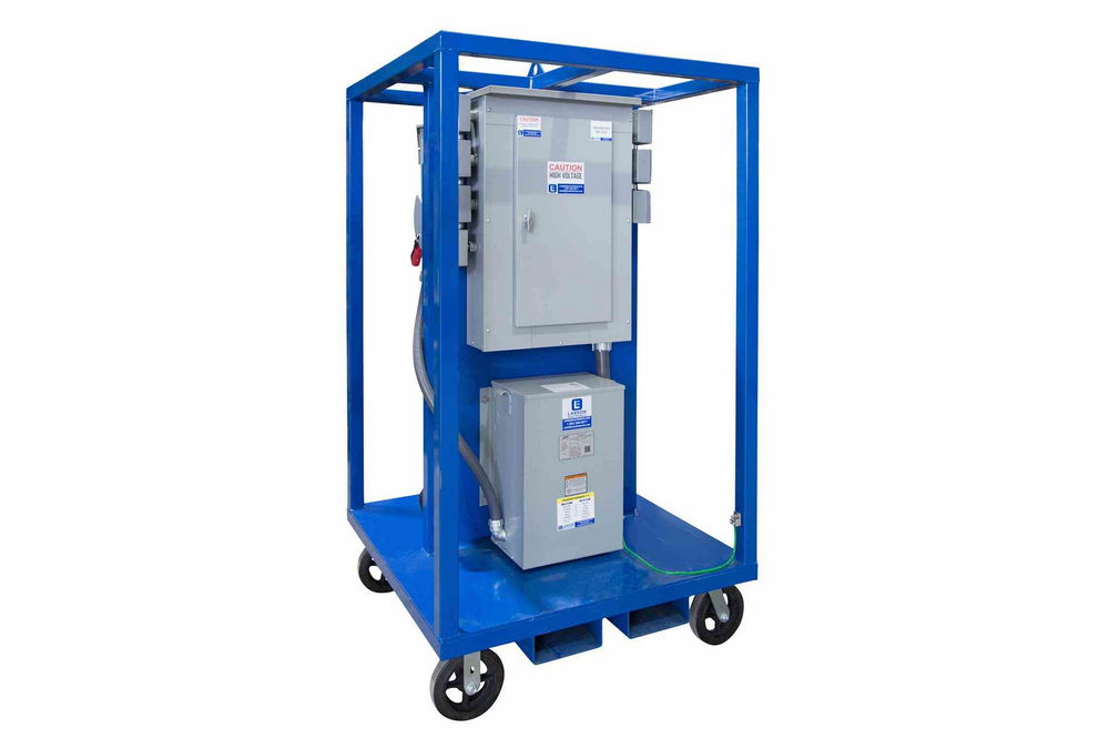 15 Kva Power Substation - 480v To 120  240v 1ph  4w