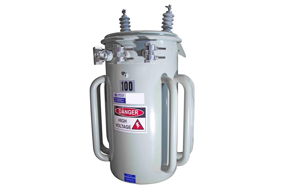 100 kVA Utility Pole Mount Transformer - 2400/4160Y Wye-N ...
