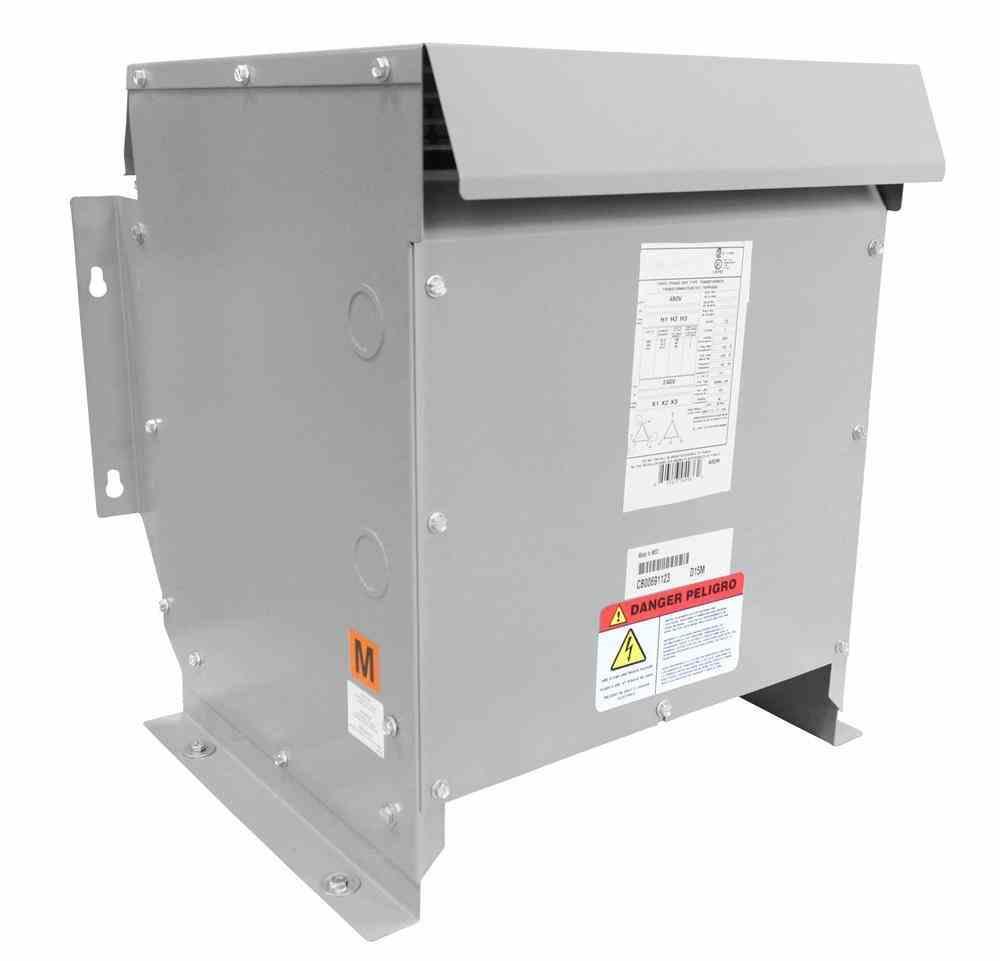 3 kva isolation transformer - 240v delta primary - 480v delta secondary -  nema 3r - fully potted