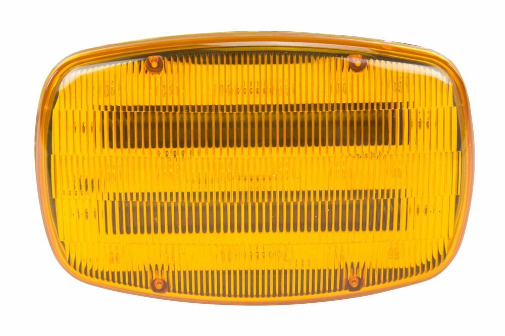 Led Amber Strobe Light 18 Leds Battery Powered Dual
