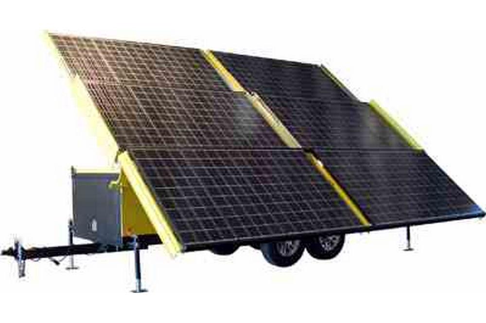 Groupe électrogène solaire - Sortie 18 Kilowatt Max - 120 / 240VAC 3 Phase - Configuration 19 '