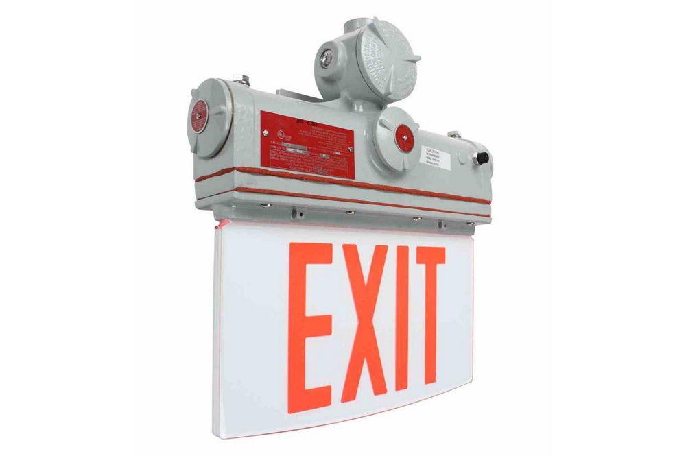 Explosion Proof Exit Sign Class I Division I Ip65