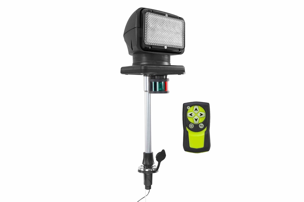 Golight radioray w stanchion boat mount spot flood for 12v table lamps for boats